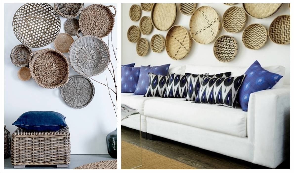 Recent Woven Basket Wall Art Intended For Woven Basket Wall Art Takuice – Decoratorist – # (View 4 of 20)
