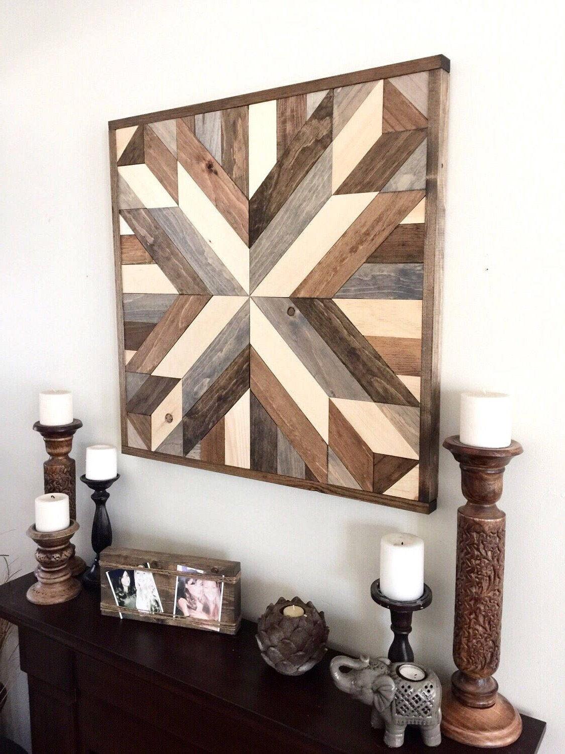 Reclaimed Wood Wall Art, Wood Art, Rustic Wall Decor, Farmhouse Pertaining To Preferred Reclaimed Wood Wall Art (View 13 of 15)