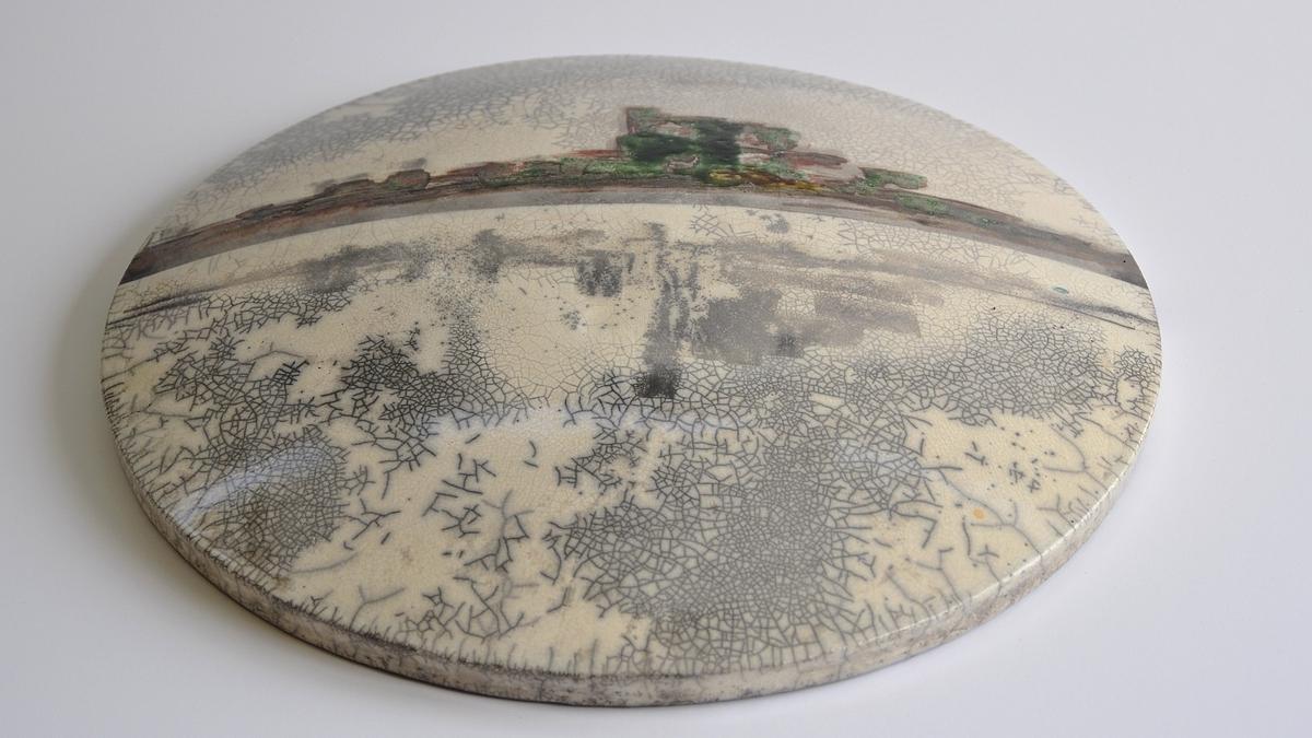 Reflections – Raku Ceramic Wall Art (View 12 of 20)