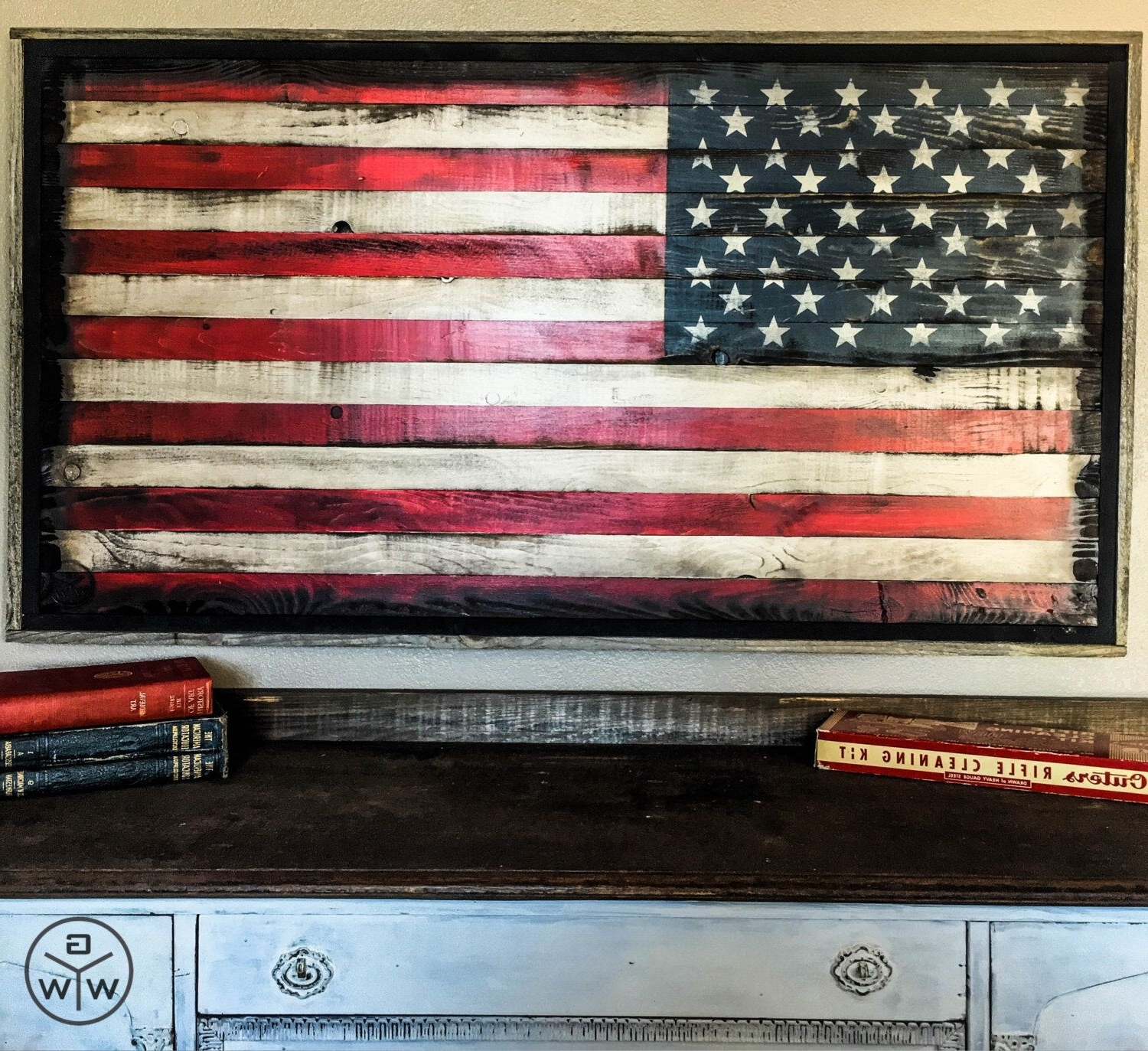 Rustic American Flag Wall Art In Well Liked American Flag Wood American Flag Wall Art Rustic American Flag Us (View 13 of 20)