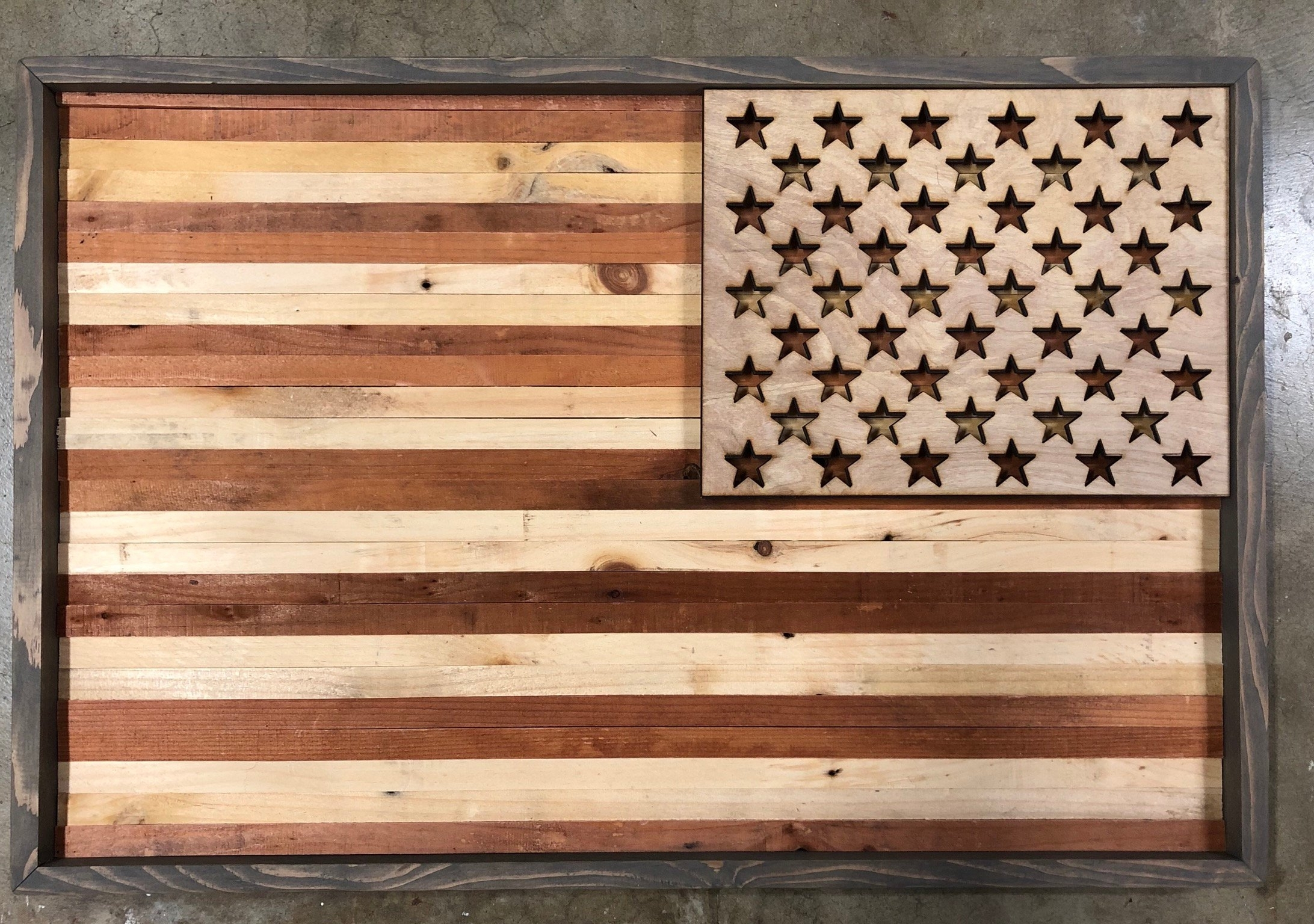 Rustic American Flag Wall Art Within Latest Rustic American Flag Wall Art (Gallery 14 of 20)