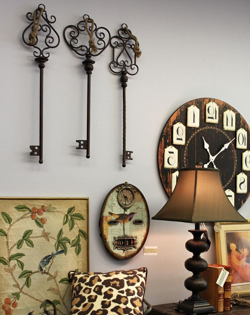 Rustic Metal Vintage Look With Regard To Most Recently Released Rustic Metal Wall Art (View 10 of 20)