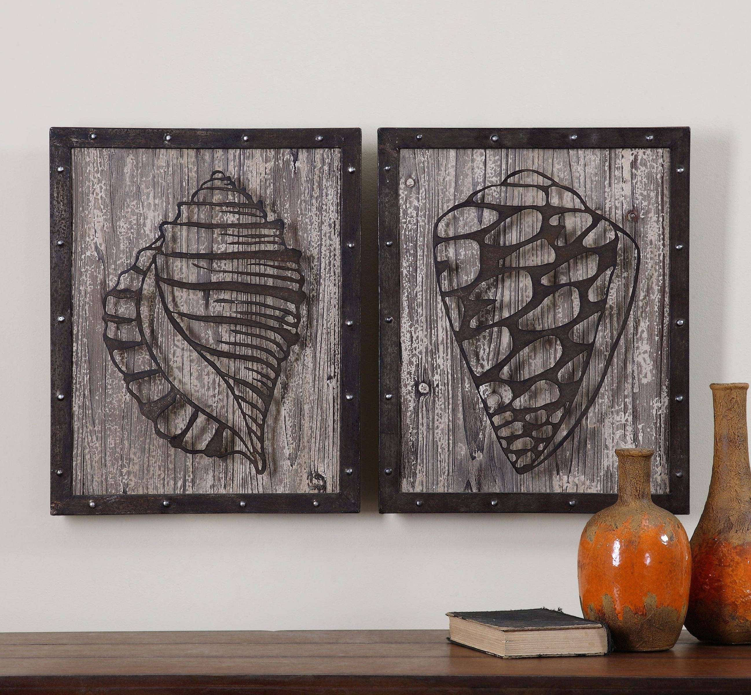 Rustic Metal Wall Art With Regard To Current Rustic Wood And Metal Wall Art 2018 Latest Wood Metal Wall Art (View 17 of 20)
