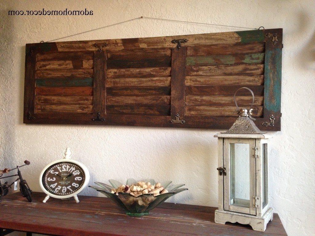 Rustic Wall Art Inside Preferred Captivating Bathroom Vintage Wall Decor Etsy 20 Rustic Wall Decor (View 10 of 15)