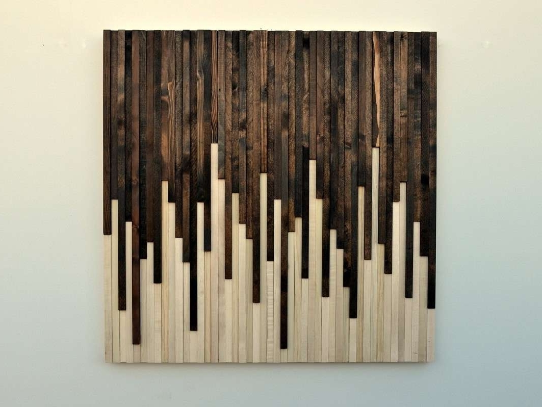 Rustic Wall Art Throughout Trendy Wood Rustic Wall Decor Modern Rustic Wall Decor Elegant Rustic Wood (View 7 of 15)