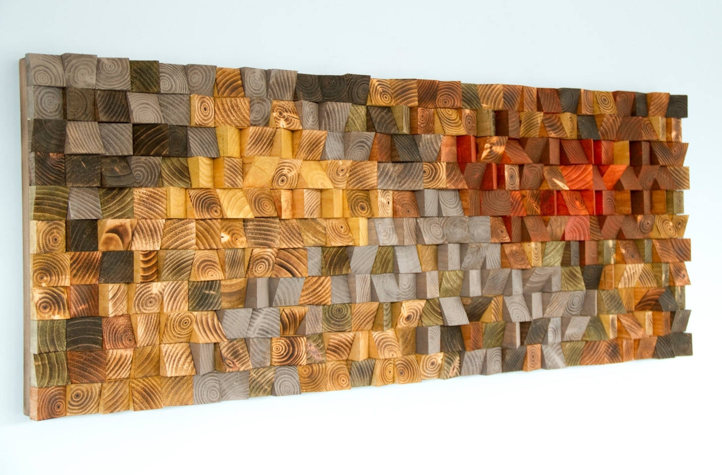 Rustic Wood Wall Art, Wood Wall Sculpture, Abstract Wood Art – Art With Favorite Wood Art Wall (View 8 of 20)
