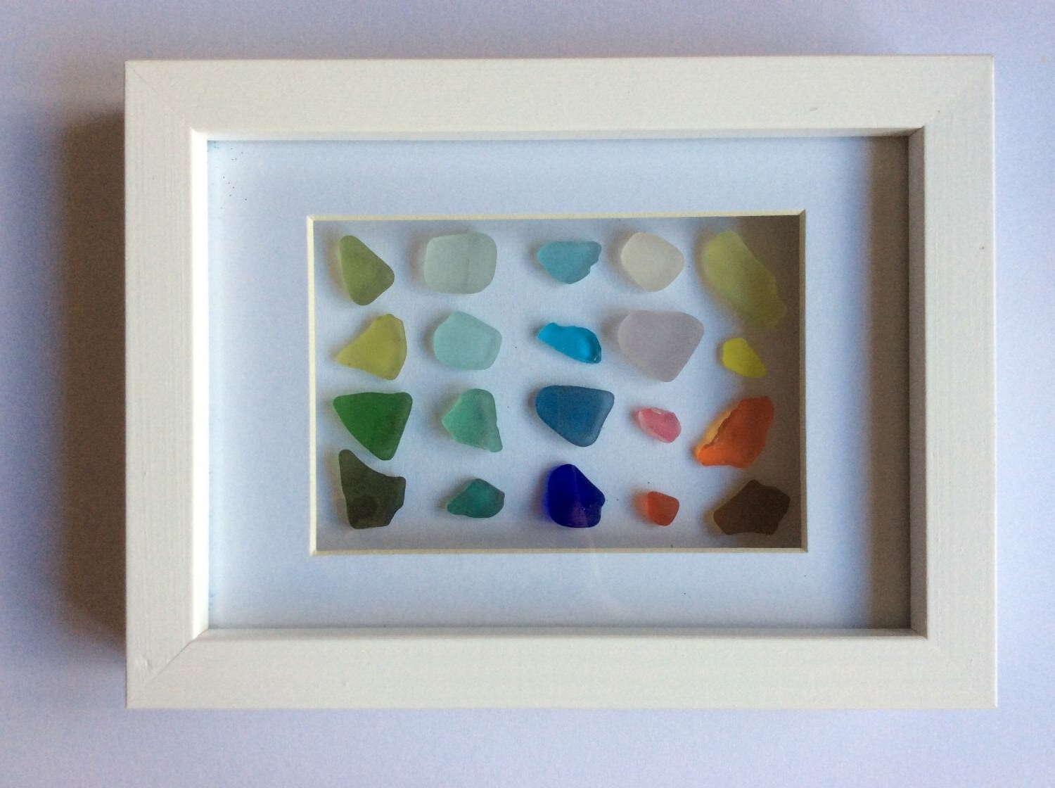 Sea Glass Art, Scottish Seaglass Colours, Beach Glass Colour Chart With Best And Newest Sea Glass Wall Art (View 9 of 15)
