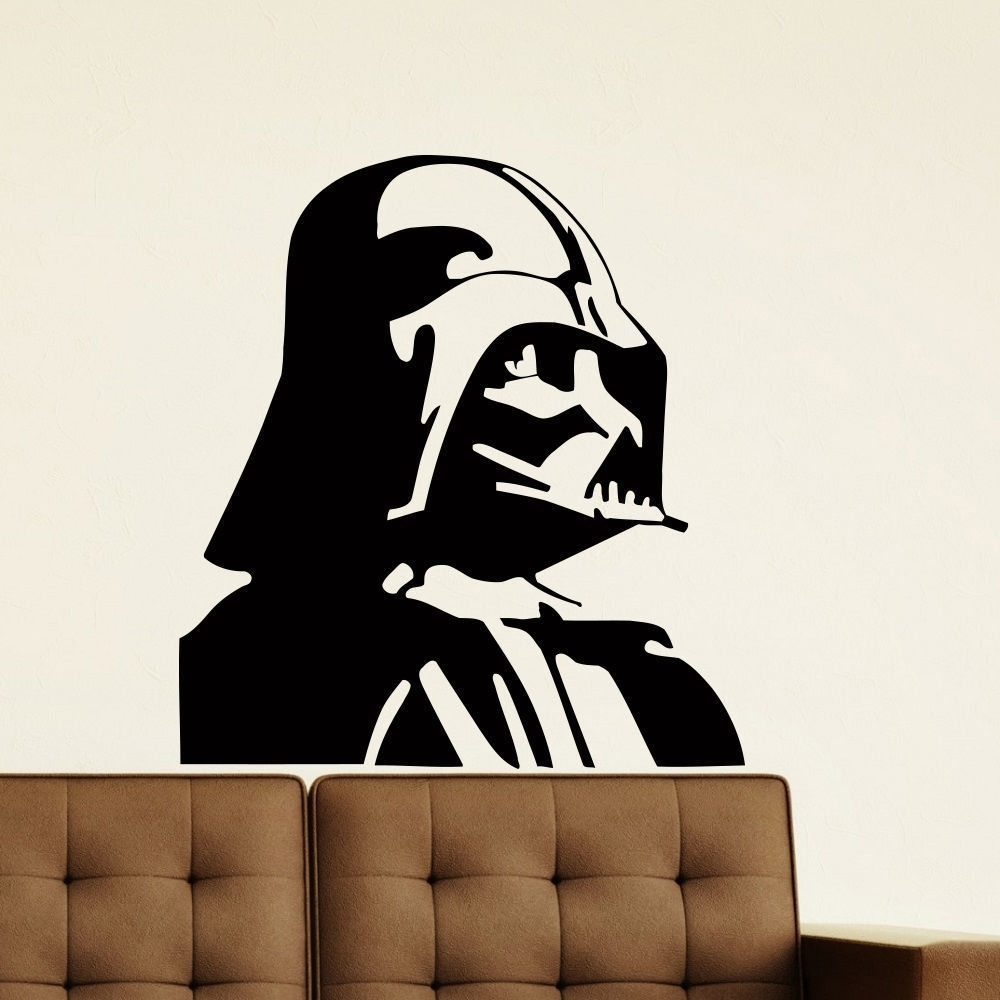 Shop Darth Vader Vinyl Wall Art Decal Sticker – Free Shipping On With Regard To Trendy Darth Vader Wall Art (Gallery 12 of 20)