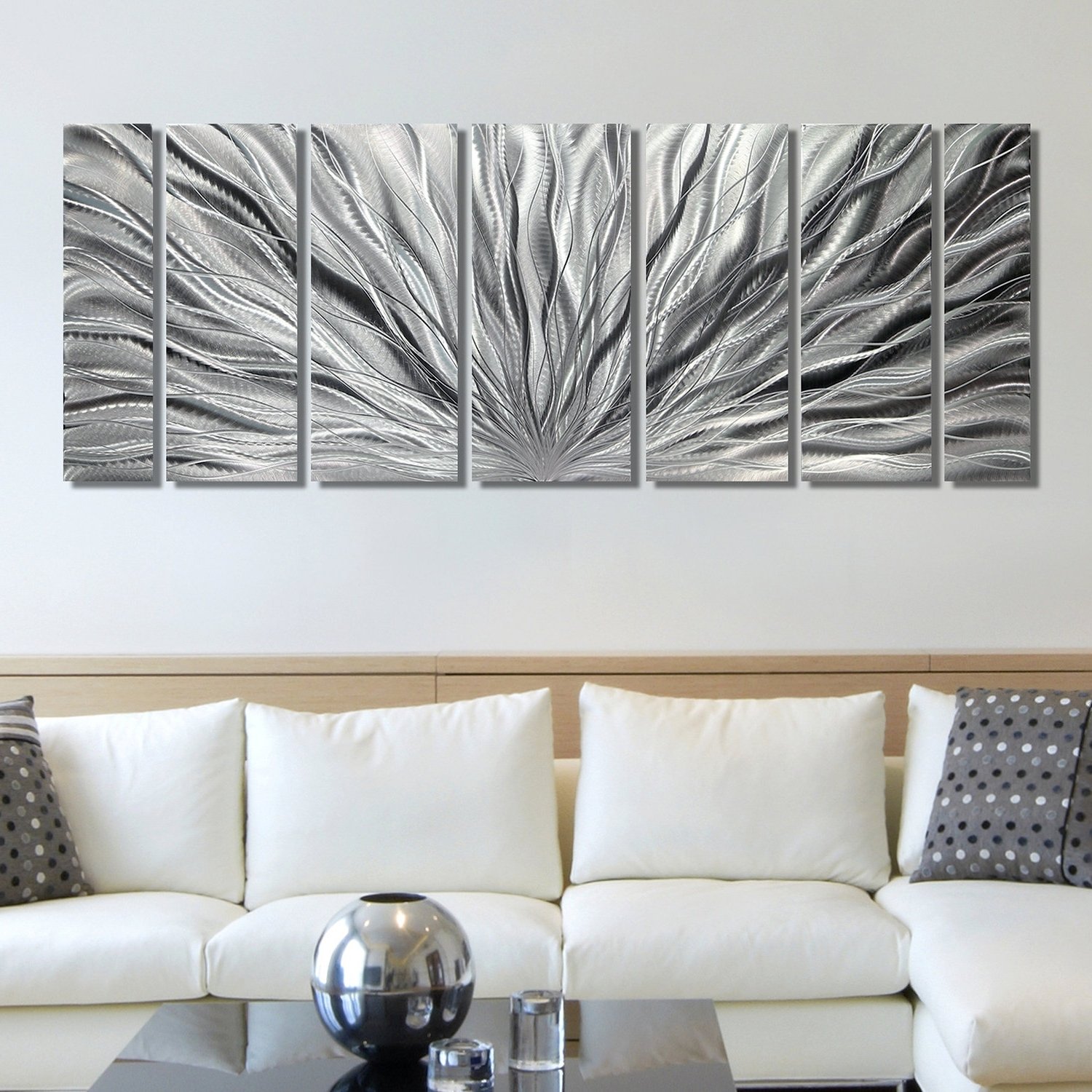 Silver Wall Art Intended For Newest Silver Wall Art Cool Wall Decor On Sale – Wall Decoration And Wall (View 13 of 20)