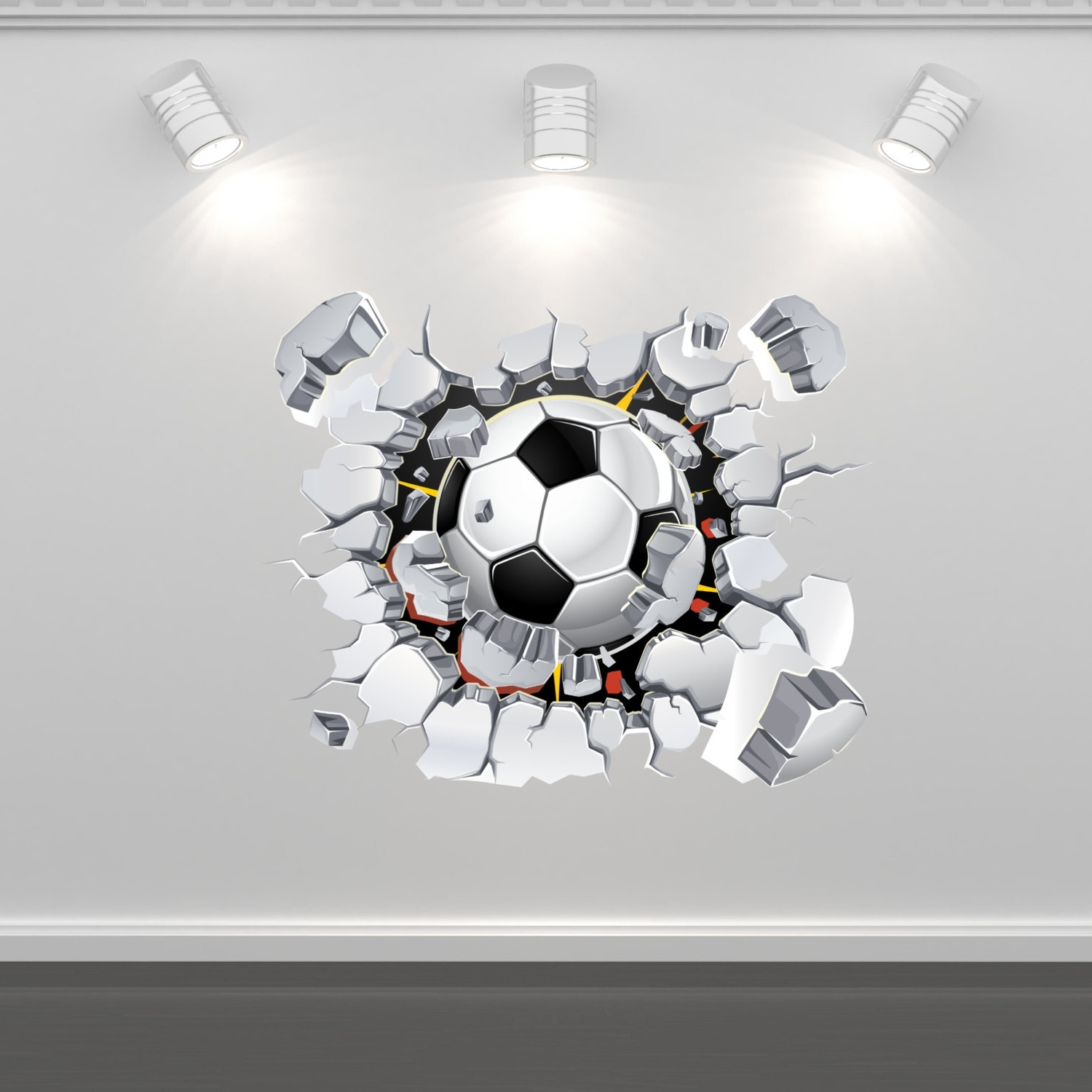 Soccer Wall Art For Most Recently Released Lovely Soccer Wall Decals Design Of Football Wall Art (View 6 of 20)
