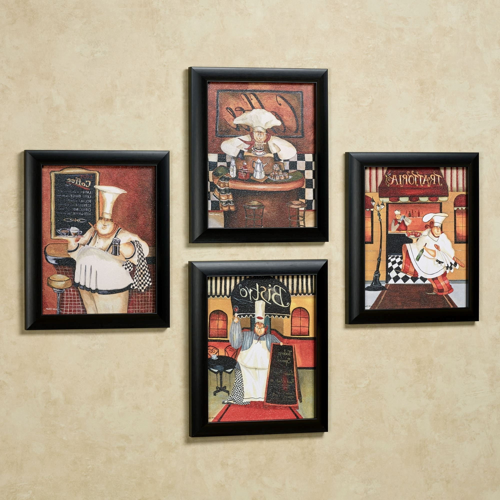 Sonoma Chef Framed Wall Art Set Intended For 2017 Wall Art Sets (View 8 of 15)