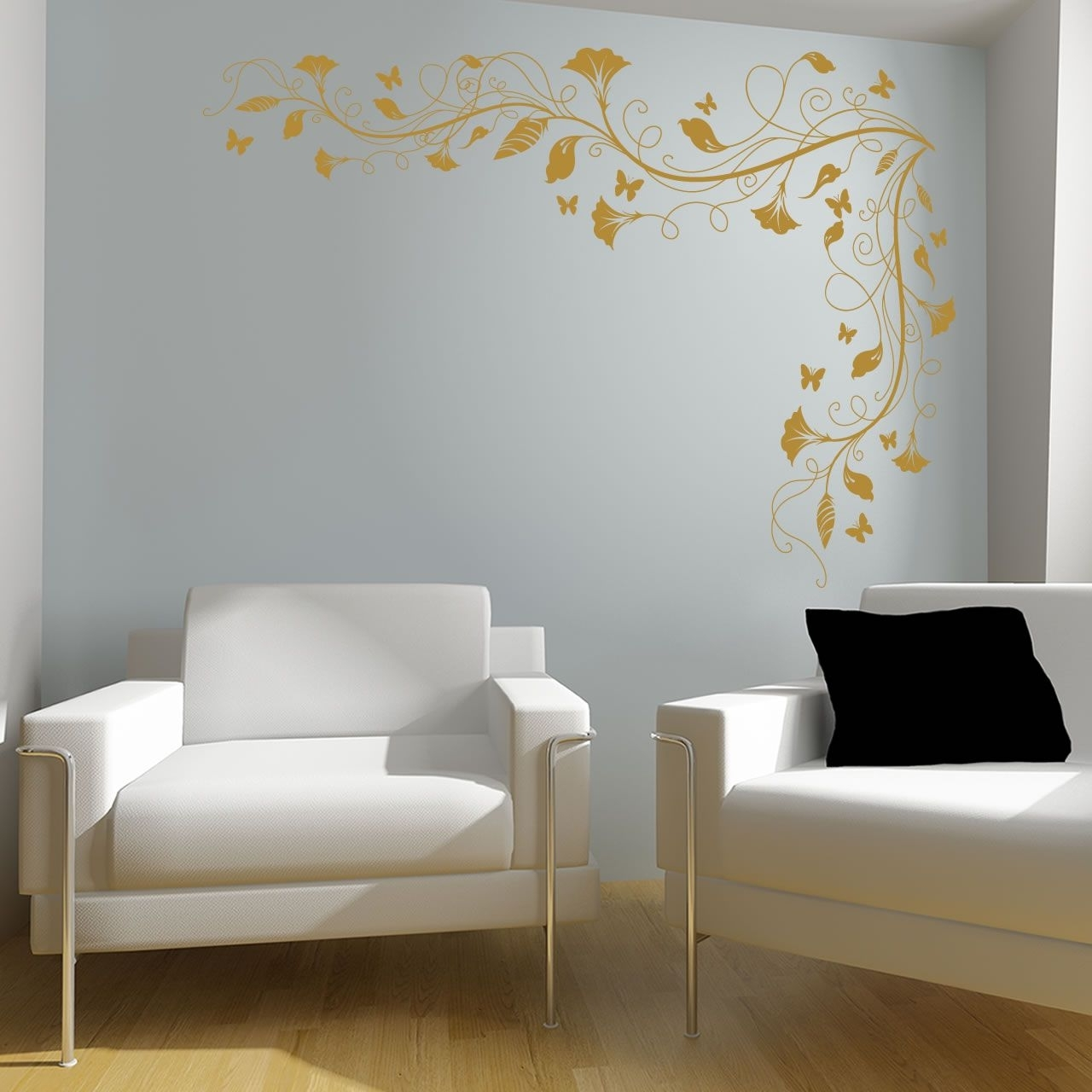 Spartacus Art – Wall Stickers / Decals / Transfers – Vines And Throughout Famous Corner Wall Art (View 17 of 20)