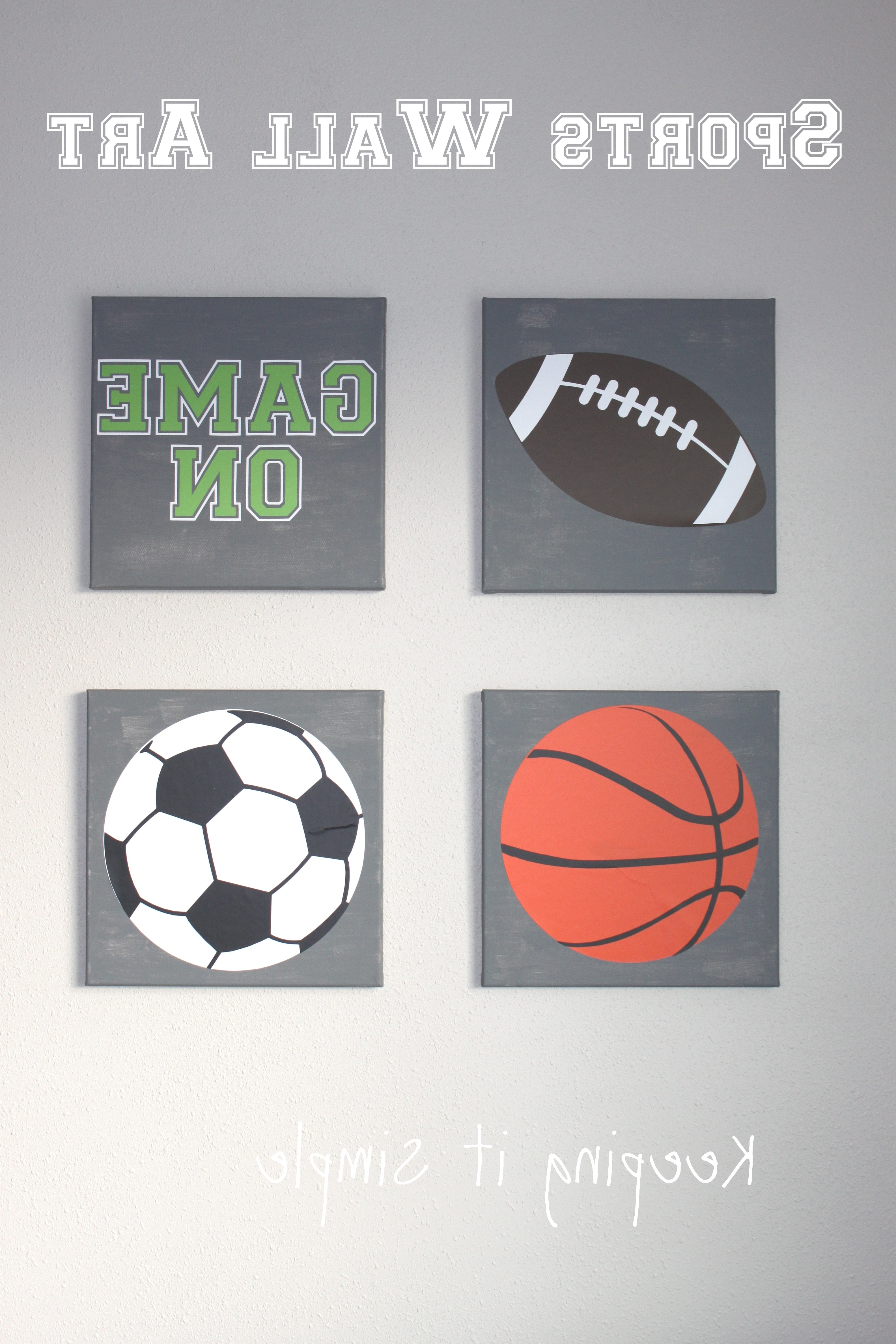Sports Wall Art With Svg Cut File • Keeping It Simple For Well Known Sports Wall Art (View 7 of 20)