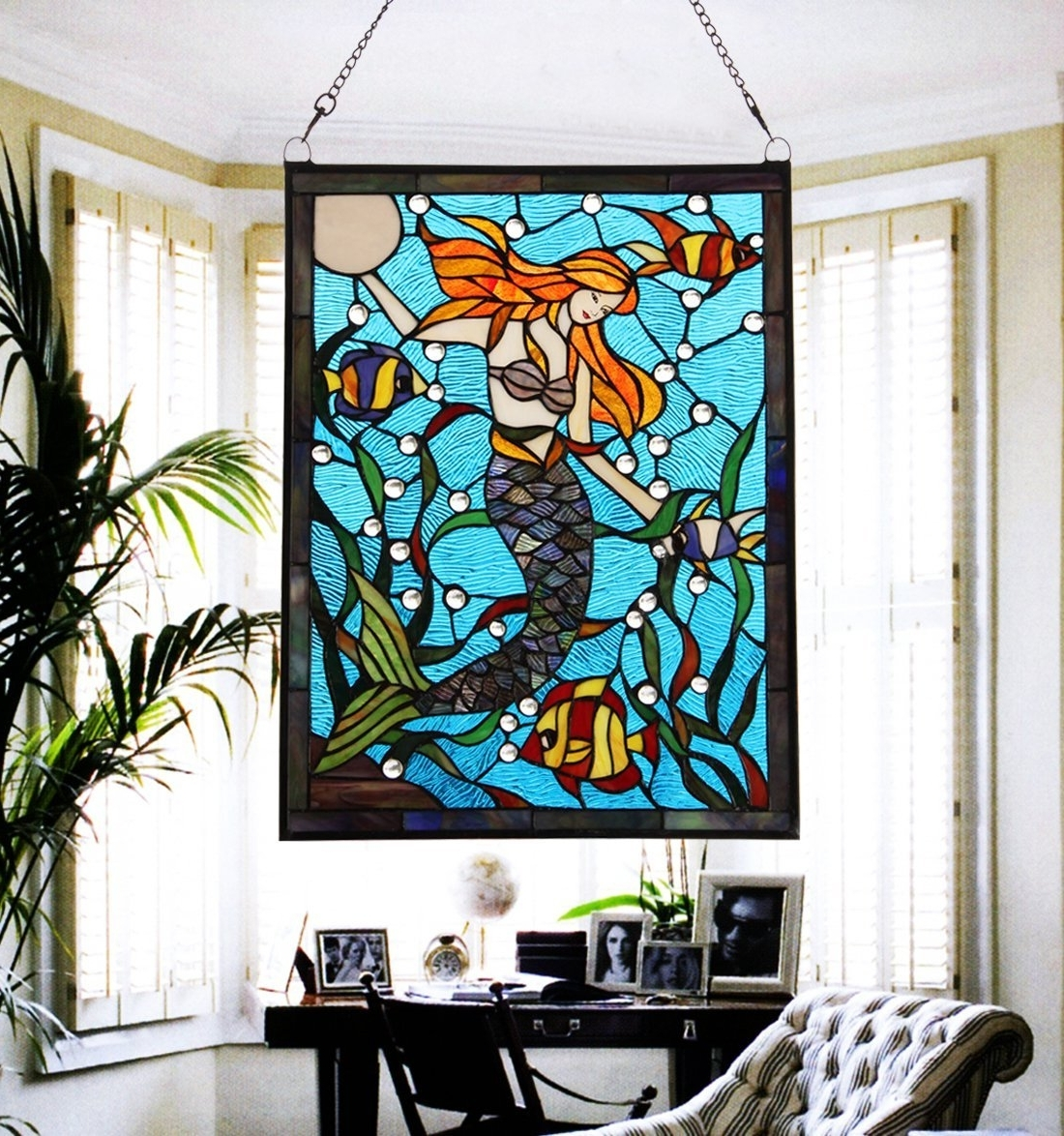 Stained Glass Wall Art – Culturehoop With Recent Stained Glass Wall Art (View 13 of 20)
