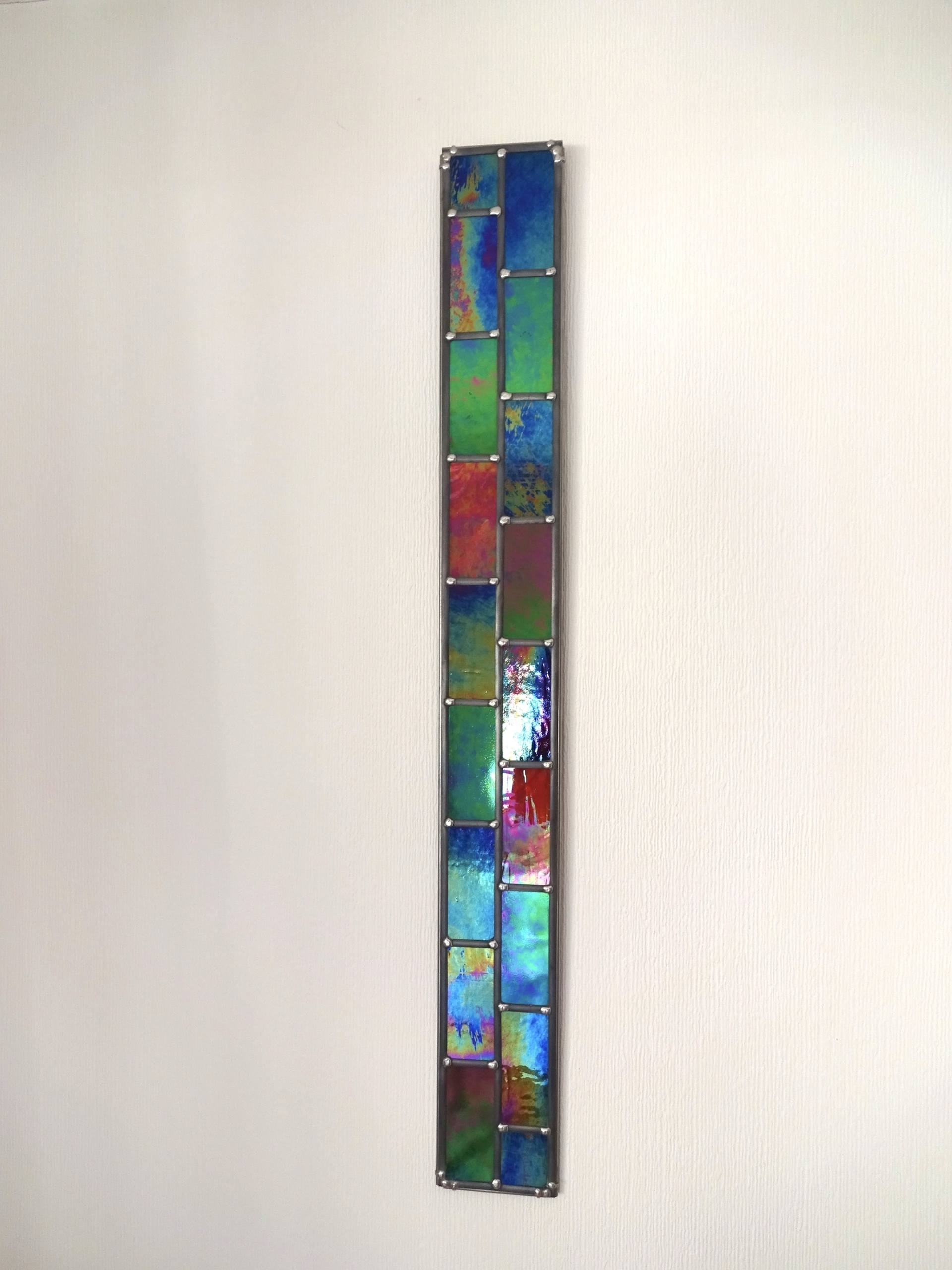 Stained Glass Wall Art Within Famous Saatchi Art: Stronger Together – 2D Opaque Stained Glass Wall Art (View 16 of 20)
