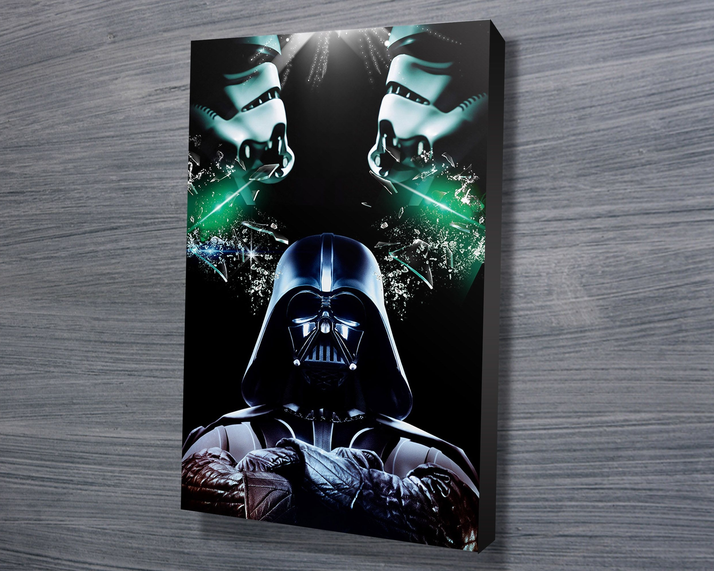 Star Wars Art Throughout 2017 Darth Vader Wall Art (View 16 of 20)