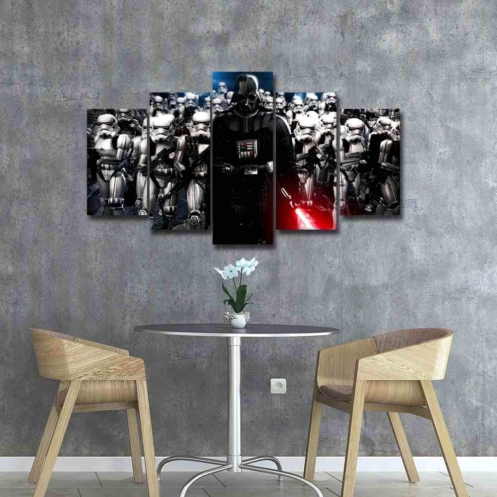 Star Wars Canvas Panel Wall Art (View 17 of 20)