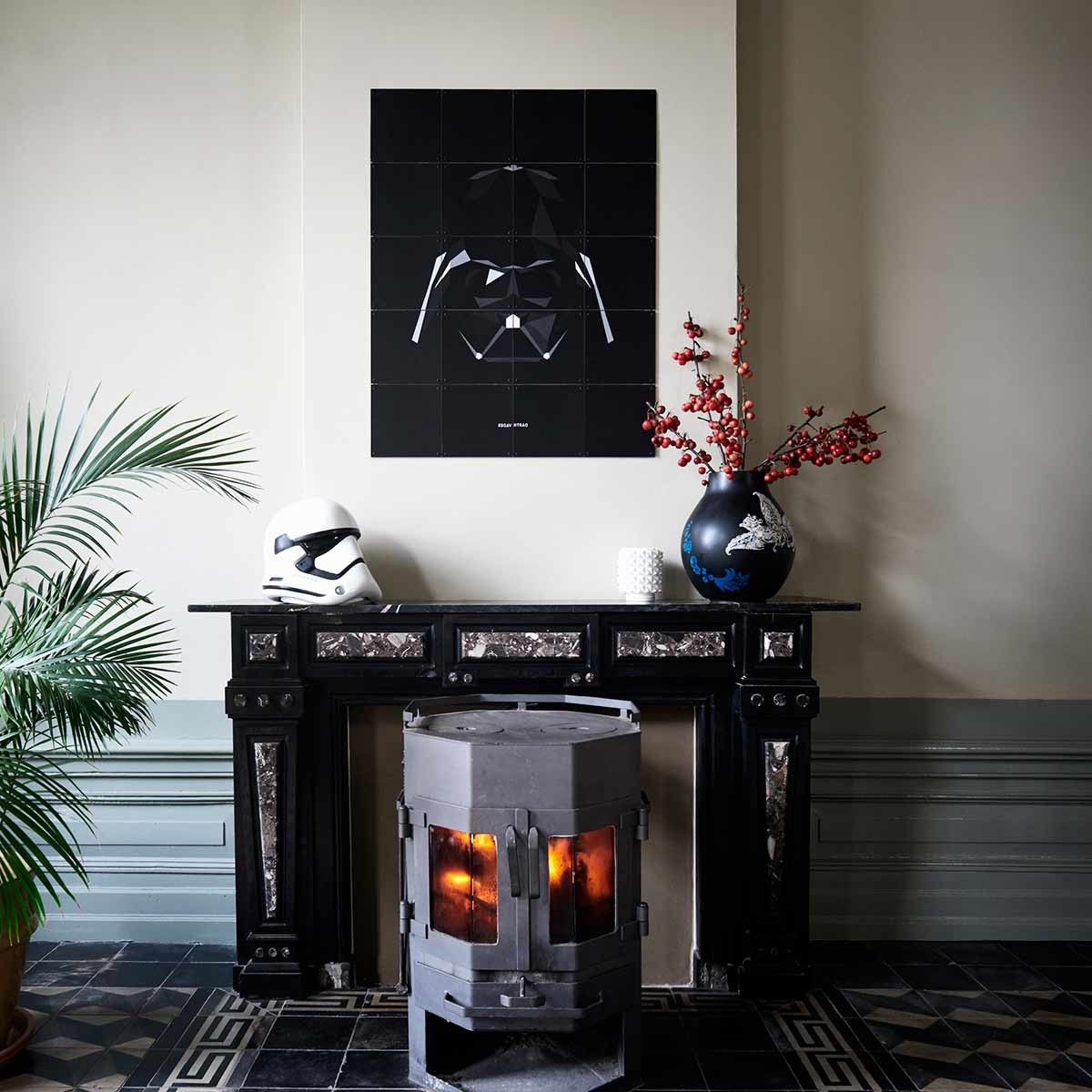 Star Wars Icons Darth Vader Wall Artixxi At Dotmaison In Most Recently Released Darth Vader Wall Art (View 19 of 20)