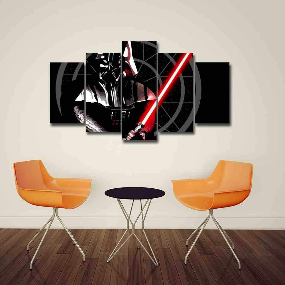Star Wars Wall Art Pertaining To Latest Darth Vader (View 4 of 15)