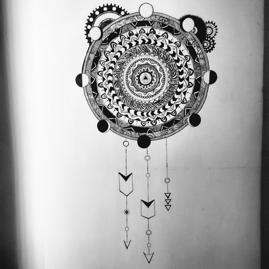 Steampunk Mandala Wall Artusachan26 On Deviantart Intended For Most Recently Released Mandala Wall Art (Gallery 20 of 20)