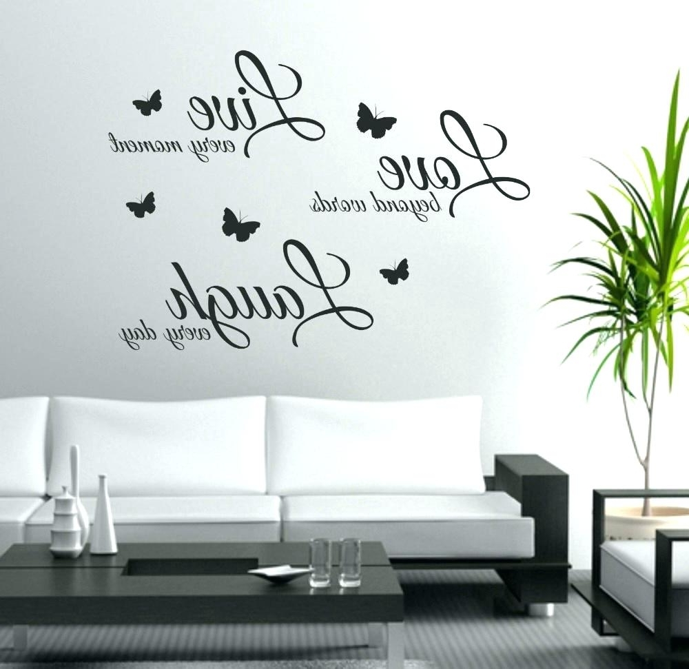 Stick On Wall Art With Newest Peel And Stick Wall Decals Quotes Stick On Wall Art Wall Ideas (View 14 of 20)