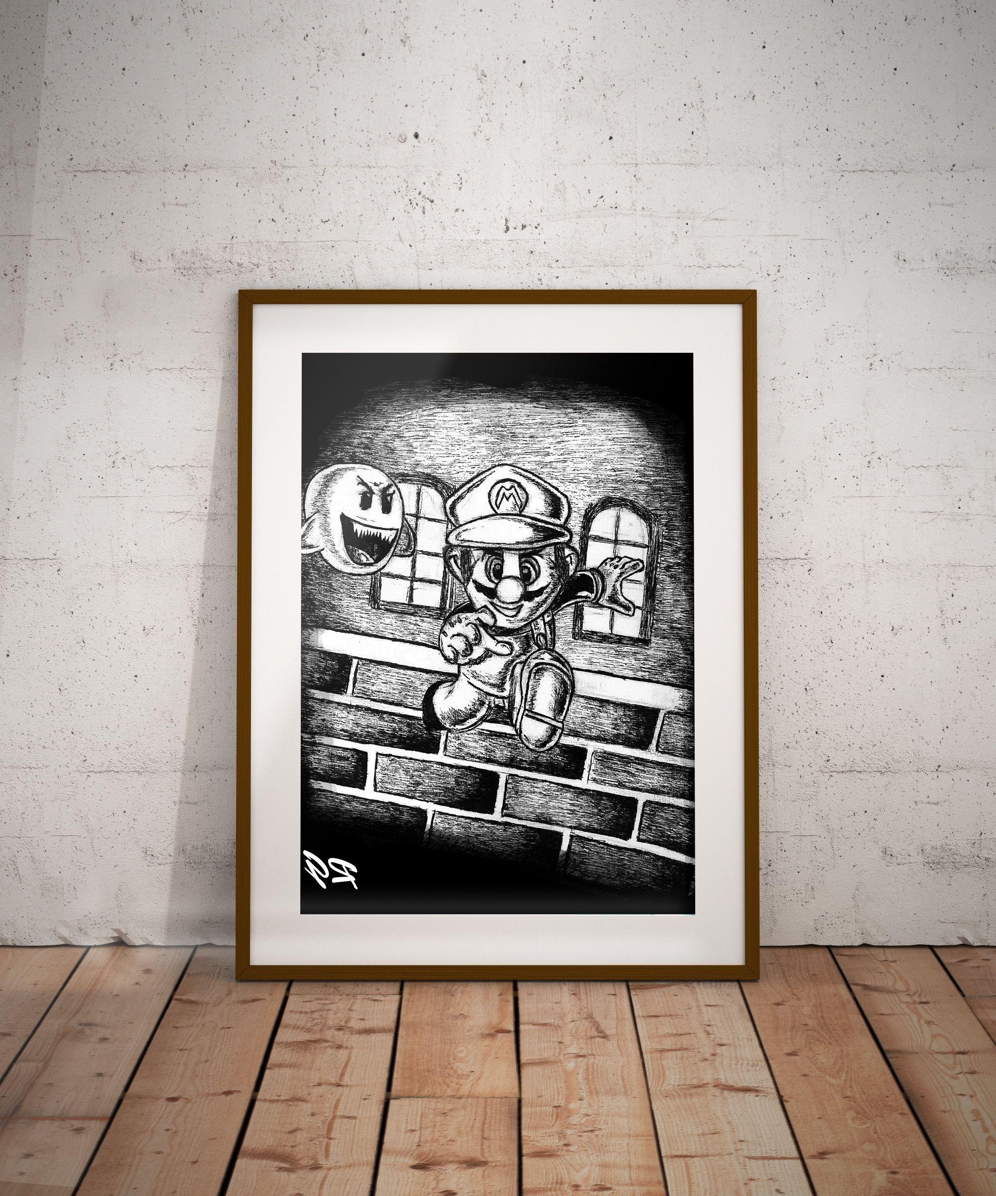 Super Mario Nintendo Video Game Wall Art Print (View 18 of 20)