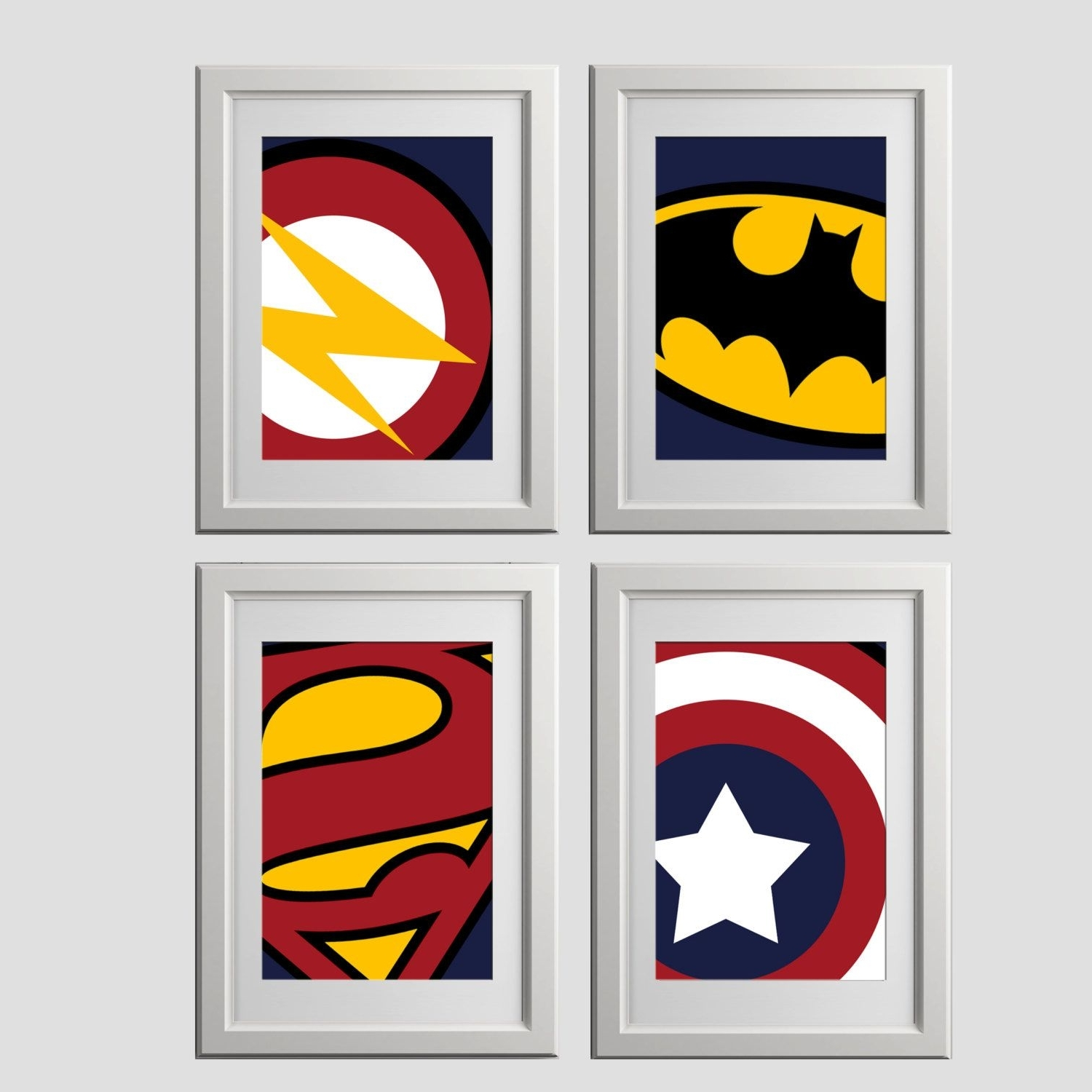 Superhero Wall Art Prints, Super Hero Wall Art Prints, High Quality In 2017 Superhero Wall Art (Gallery 4 of 20)