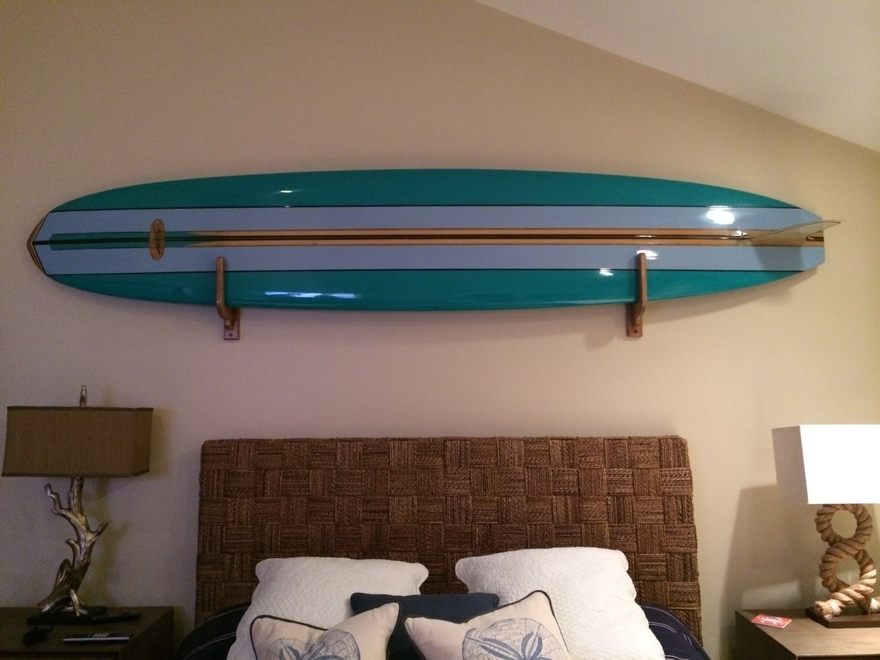 Surfboard Wall Art Regarding Famous Unfinished Surfboard Wall Decor — Room Decor : How To Select (View 15 of 20)