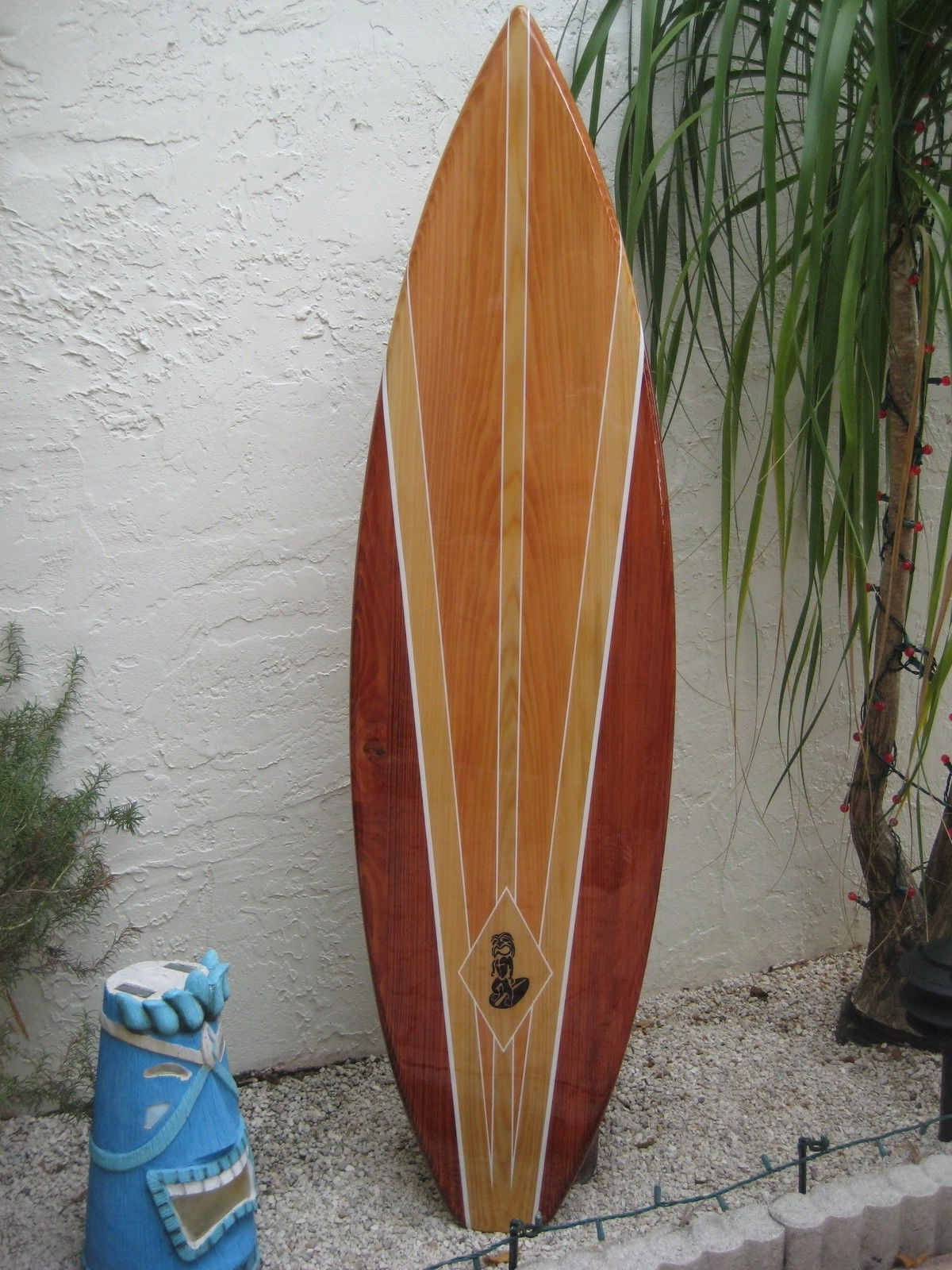 Surfboard Wall Art Within Most Recent Tropical Decorative Wood Surfboard Wall Art For A Coastal Beach Home (View 18 of 20)