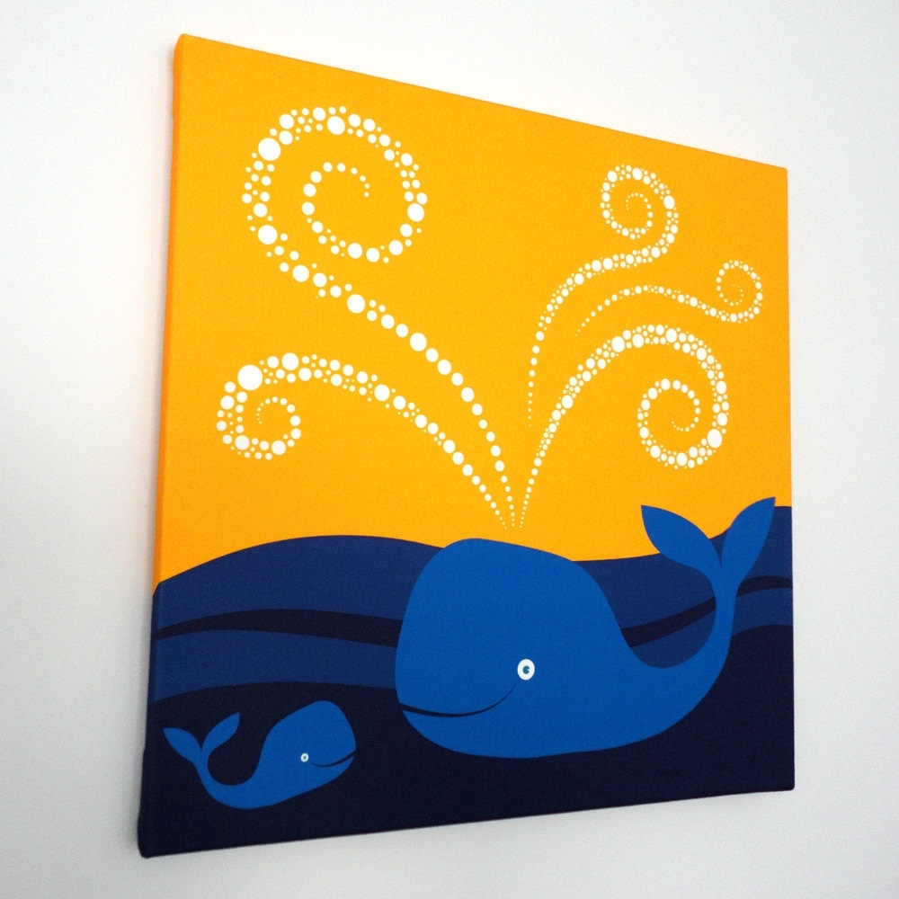 Showing Photos of Whale Canvas Wall Art (View 4 of 20 Photos)
