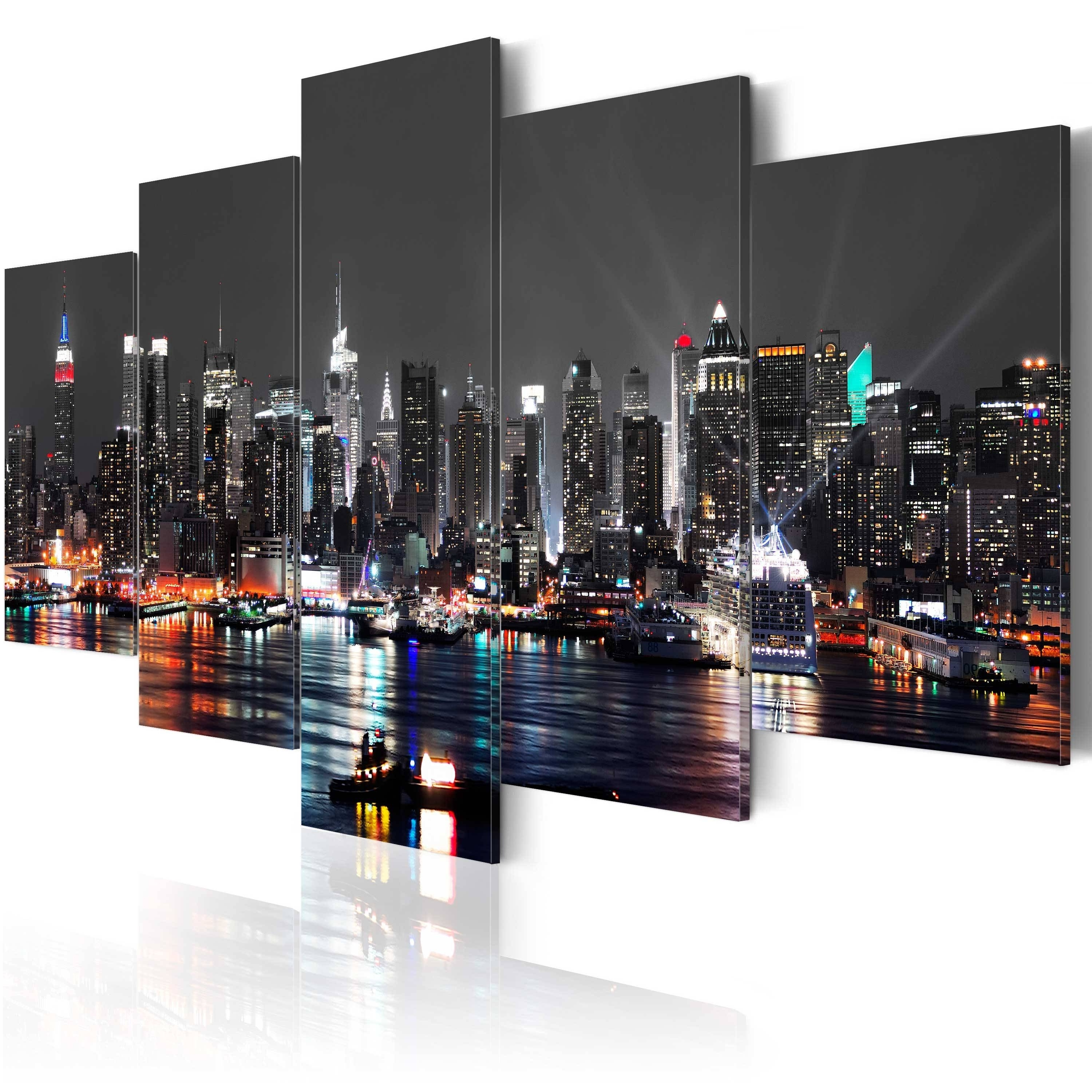 The Best New York City Wall Art, Nyc Wall Art – Swinki Morskie Throughout Preferred Nyc Wall Art (View 14 of 20)