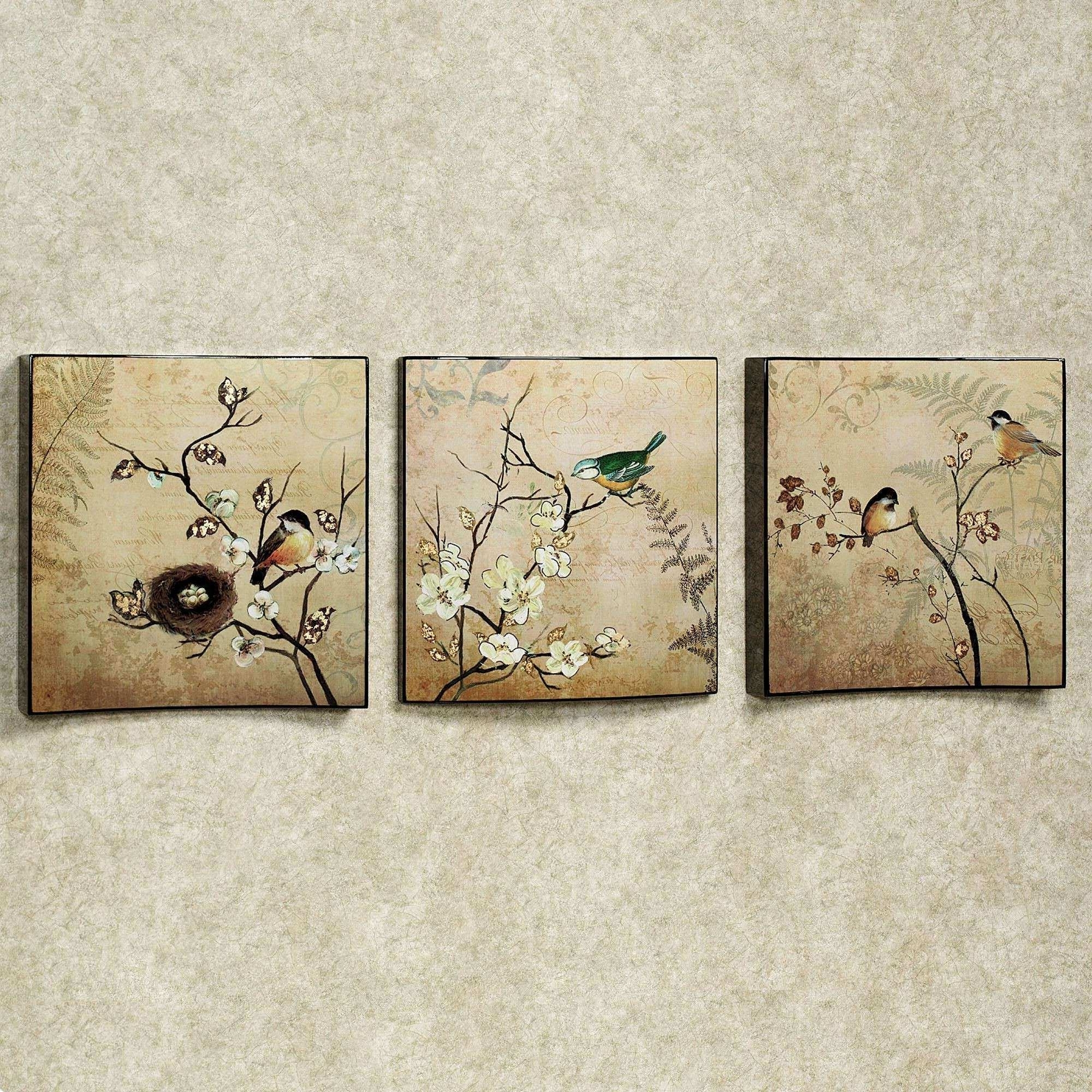 Touch Of Class Wall Art Intended For Recent Touch Of Class Wall Art Fresh Natures Kiss Birds Wall Art Set (View 14 of 20)