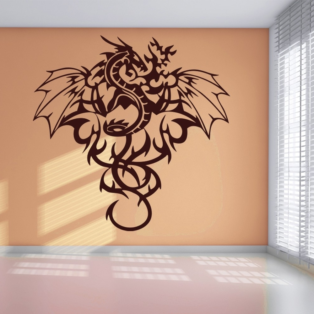Tr Good Dragon Wall Art – Wall Decoration Ideas Intended For Preferred Dragon Wall Art (View 18 of 20)