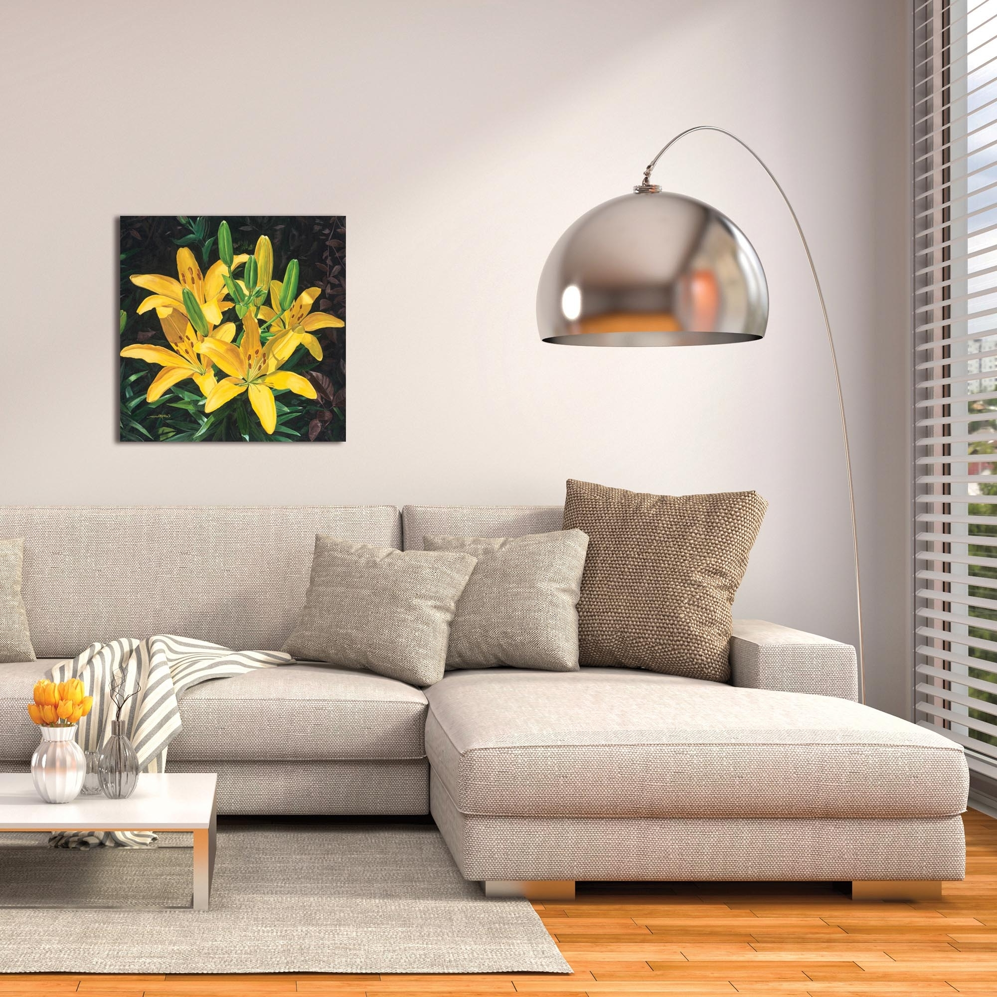 Traditional Wall Art Throughout Latest Metal Art Studio – Yellow Liliescathy Pearson – Traditional Wall (Gallery 9 of 15)
