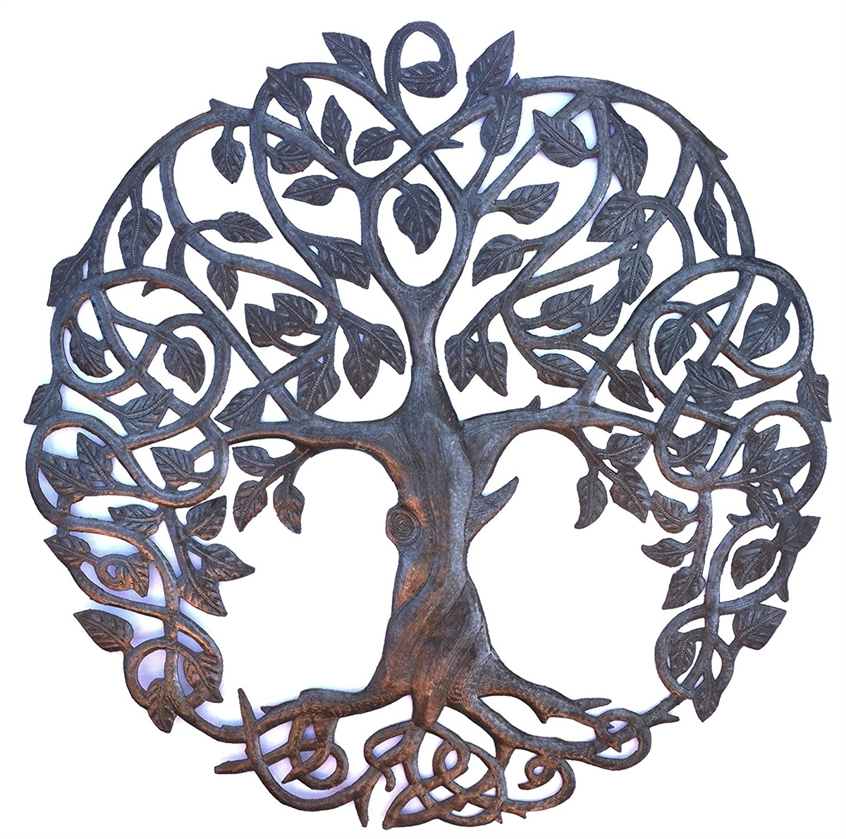 Tree Of Life Metal Wall Art Throughout Fashionable New Design Celtic Inspired Tree Of Life, Metal Wall Art, Fair Trade (View 17 of 20)