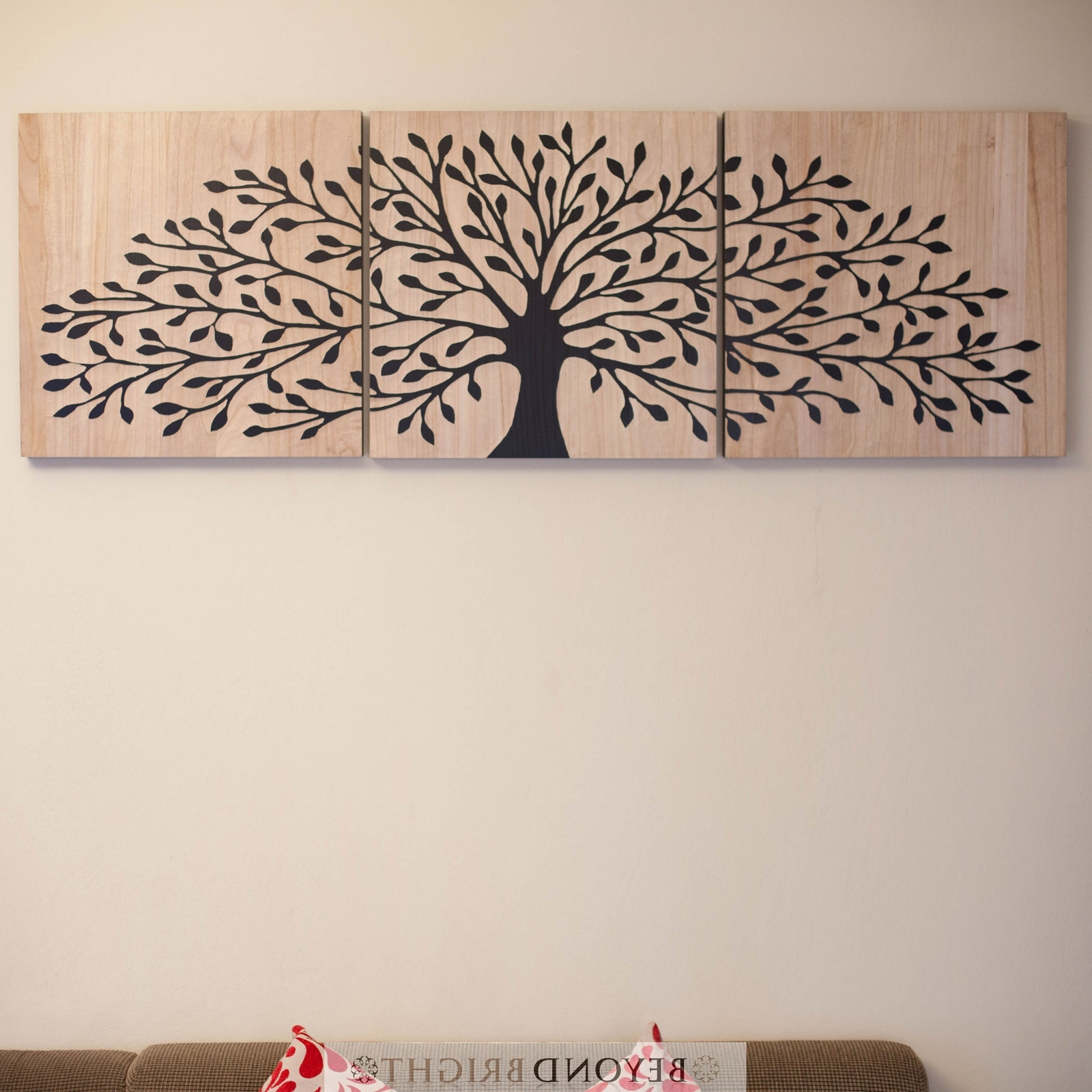 Tree Of Life Wooden Timber Carved Wall Art Blck Mangowood Carving Throughout Most Recently Released Tree Of Life Wall Art (View 14 of 15)
