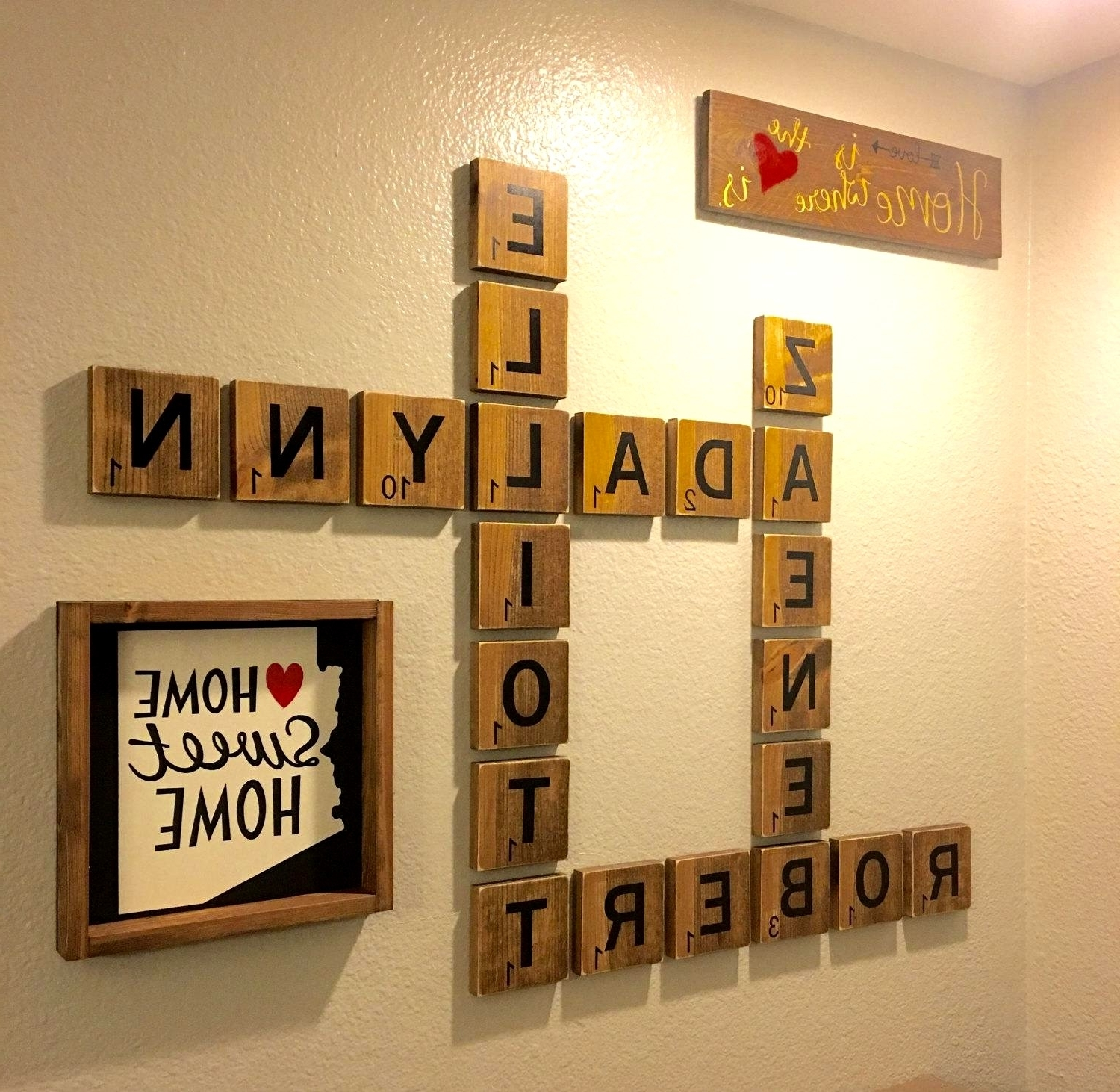Trendy 25 Layout Scrabble Tiles Wall Art With Scrabble Wall Art (View 16 of 20)