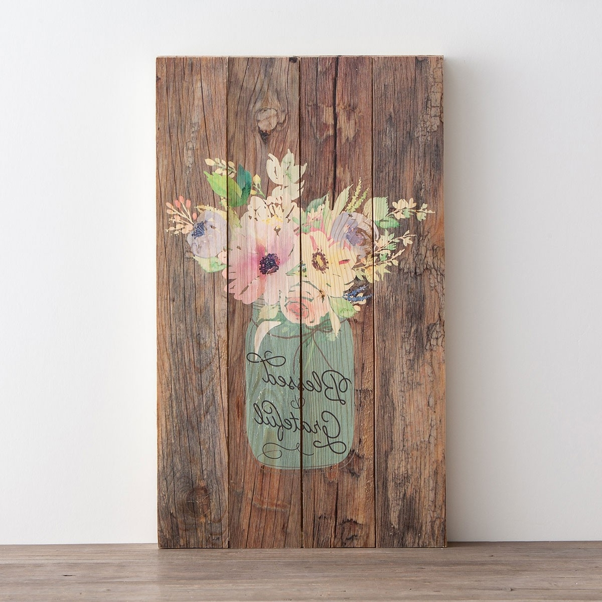 Trendy Blessed & Grateful – Plank Wall Art (Gallery 2 of 20)