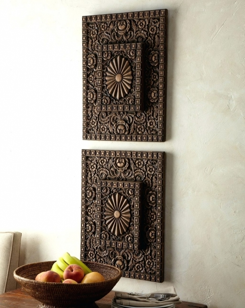 Trendy Carved Wood Wall Art In Popular Carved Wood Wall Art : Andrews Living Arts – Carved Wood (Gallery 15 of 15)