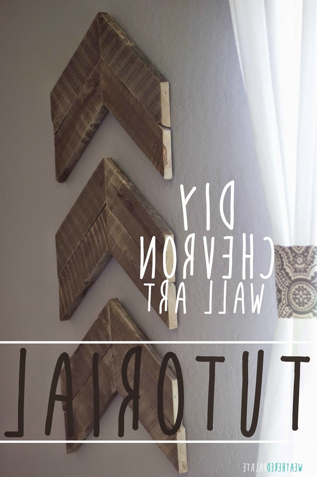 Trendy Chevron Wall Art Throughout Diy Chevron Wall Art {Tutorial} (View 17 of 20)