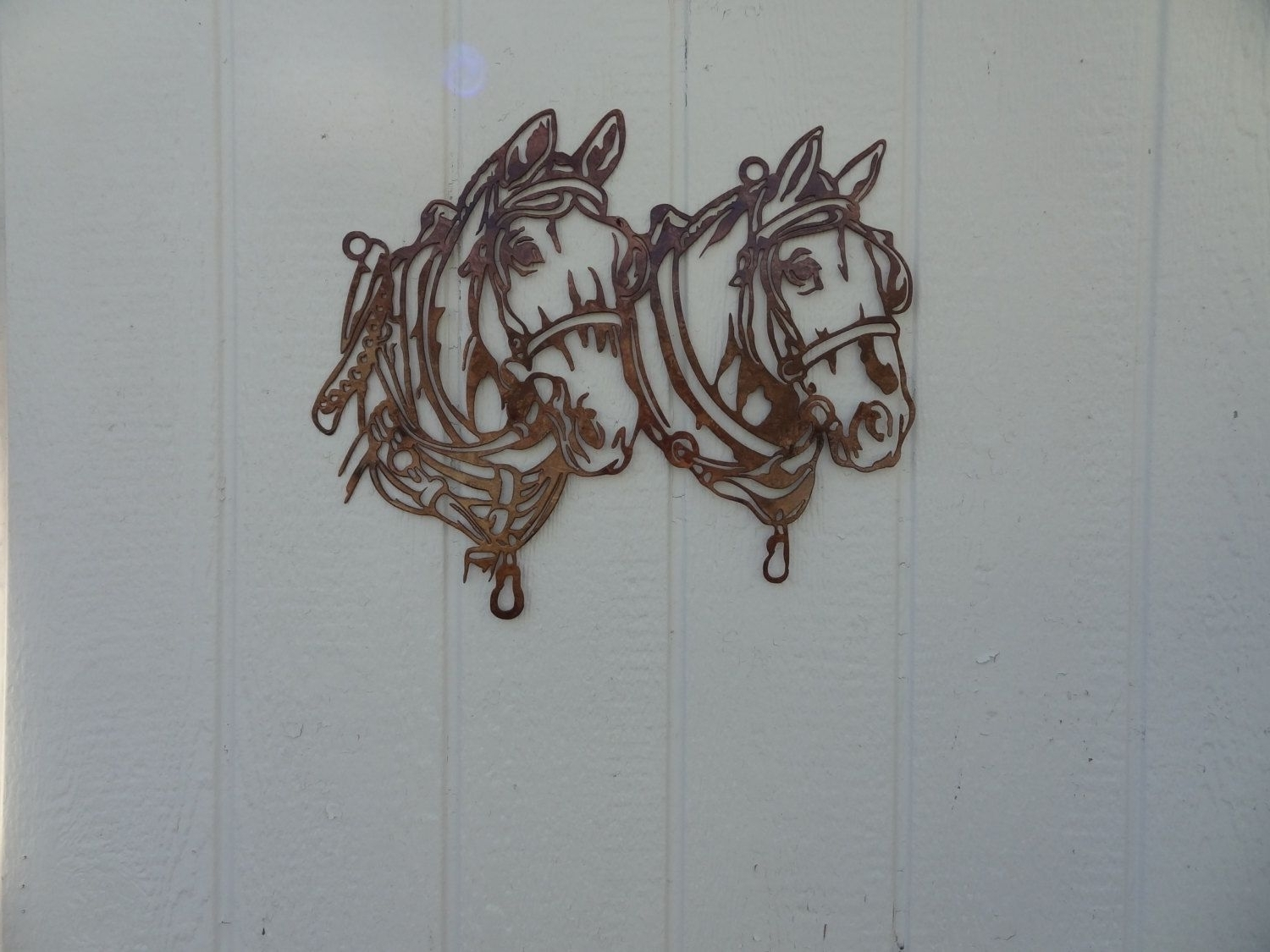 Trendy Country Wall Art Regarding Buy A Hand Crafted Draft Horse Head Metal Wall Art Country Rustic (View 16 of 20)