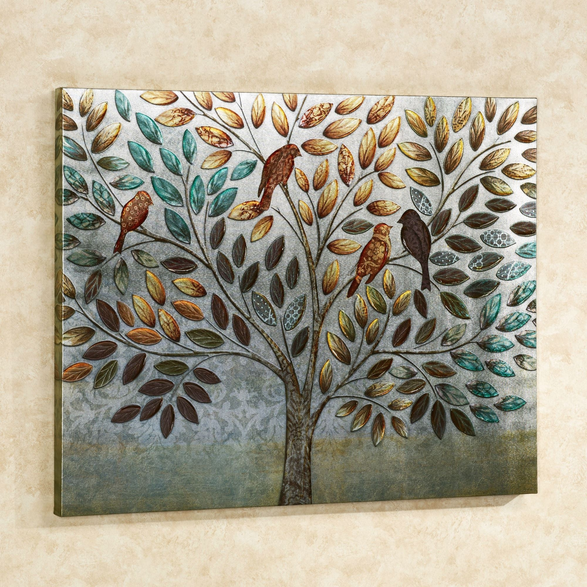 Trendy Touch Of Class Wall Art In Natures Splendor Birds In Tree Canvas Wall Art (Gallery 10 of 20)