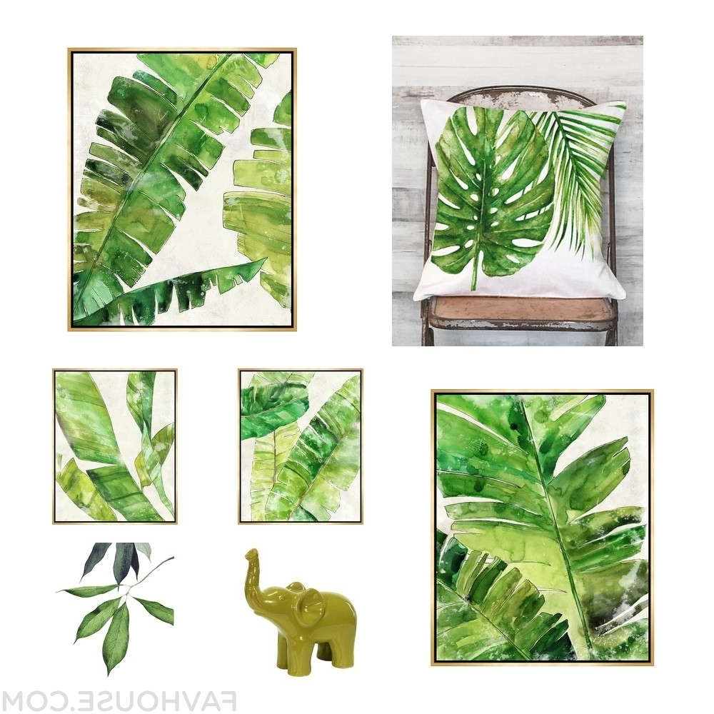 Tropical Wall Art Within Recent Tropical Wall Art – Culturehoop (View 19 of 20)
