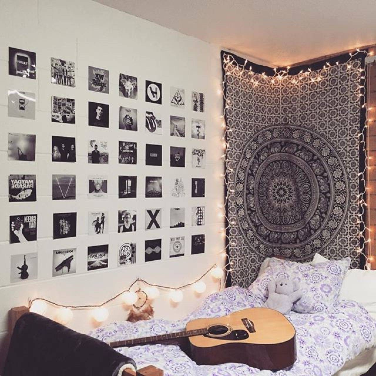 Tumblr Wall Art In Fashionable Tumblr Bedroom Decor Awesome 32 Awesome Wall Art Tumblr (View 14 of 20)