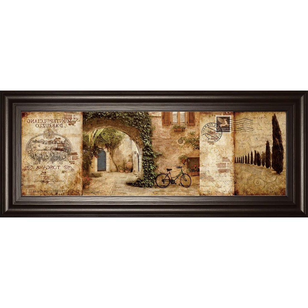 Tuscan Wall Art Throughout Well Known Classy Art 18 In. X 42 In (View 17 of 20)
