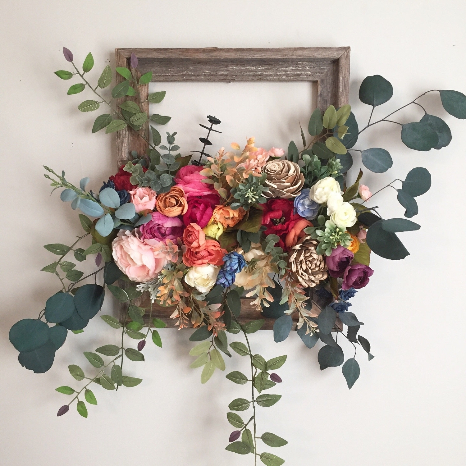 Unique Wall Hanging Flower Design (Gallery 17 of 20)