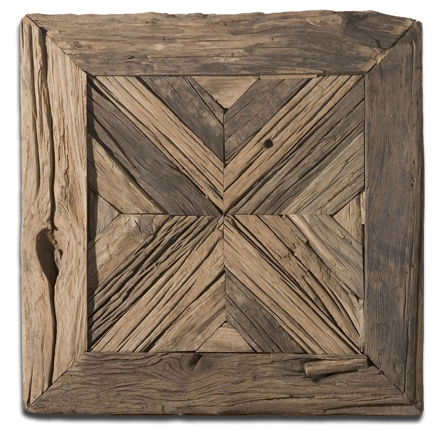 Uttermost Rennick Rustic Wood Wall Art  (View 15 of 20)