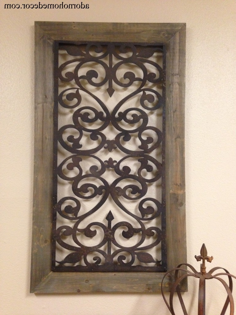 V Sanctuary – Wooden With Wood And Metal Wall Art (View 13 of 20)