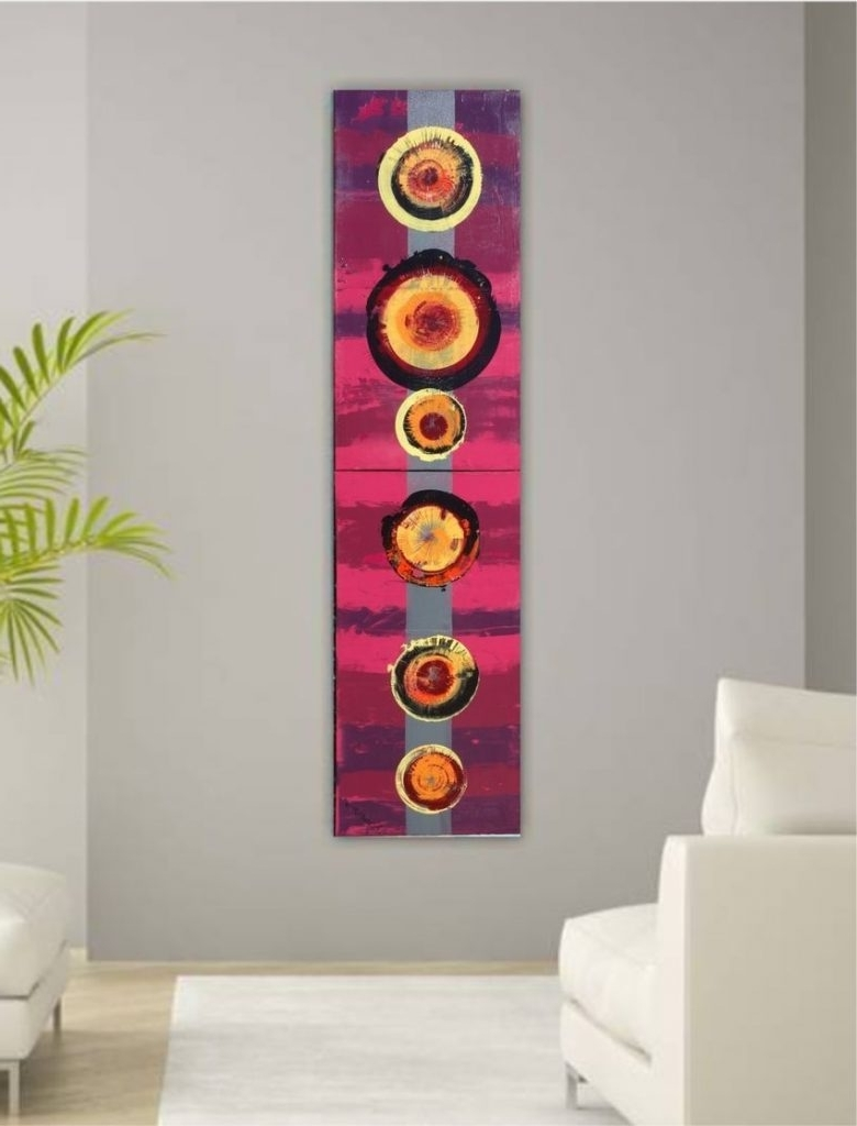 Vertical Wall Art Inside Fashionable Vertical Wall Art – Culturehoop (View 15 of 20)