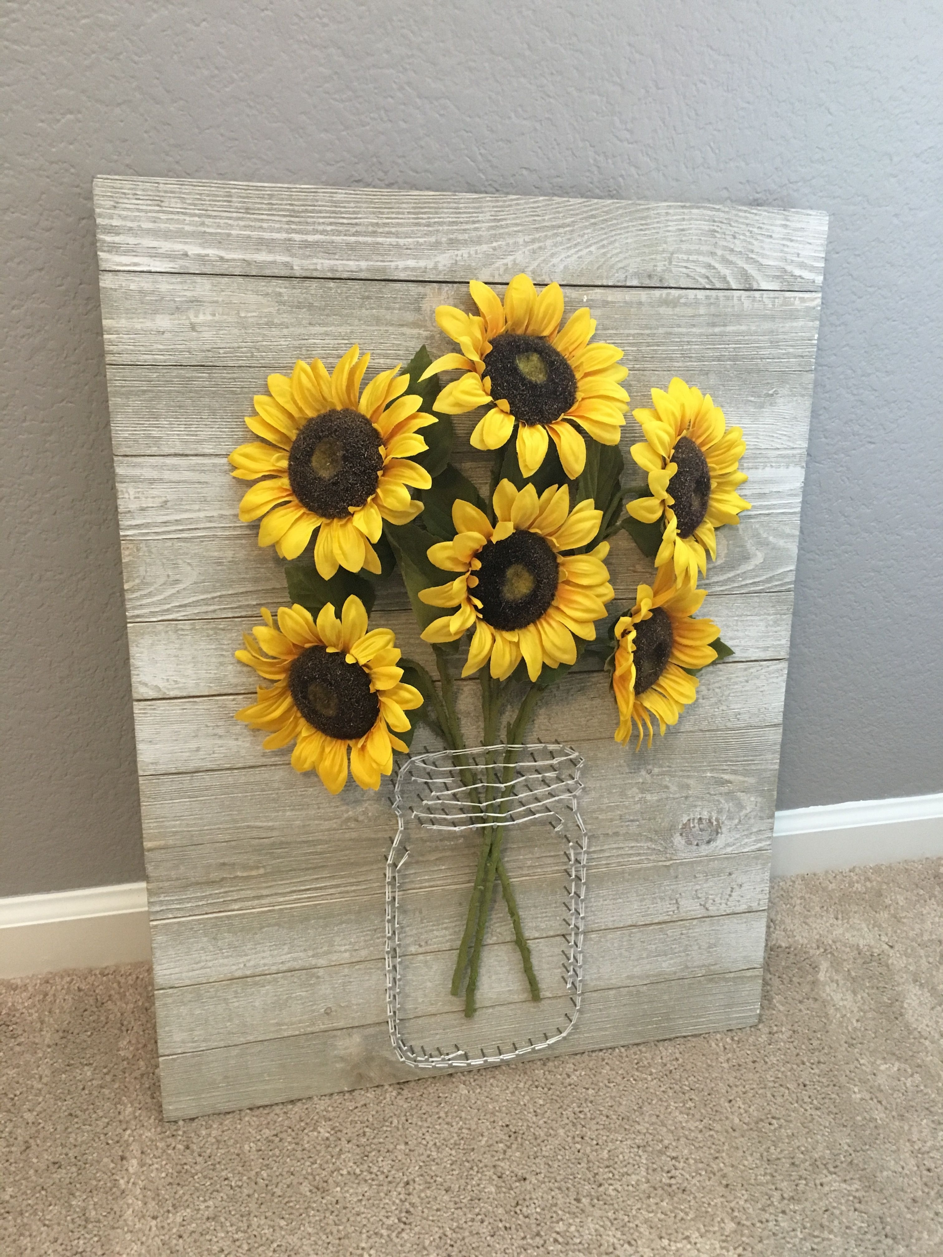 Wall Art Decorative With Sunflower Wall Art (View 18 of 20)